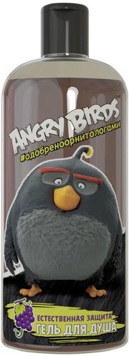 Angry Birds Гель для душа естественная защита Виноград Изабелла Черная птица БомбAngry Birds<br>Необычное сочетание тонкого аромата сочного винограда и естественного запаха берёзового дёгтя создает лёгкое и позитивное настроение. Природа на страже Твоего дня!<br><br>Вес г: 300<br>Бренд: Angry Birds<br>Объем мл: 250<br>Страна производитель: Россия