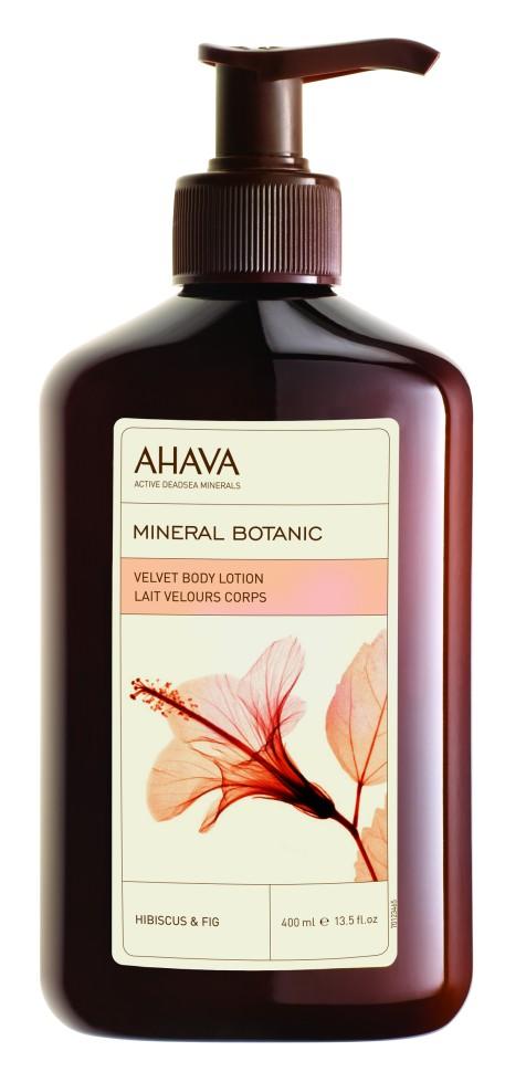 Ahava Mineral Botanic Бархатистый крем для тела гибискус и инжир 400 млAhava<br>Обогащен комплексом Osmoter™ - эксклюзивным сочетанием минералов из вод Мертвого моря, разработанным компанией AHAVA. Побалуйте себя этим легким, свежим, ароматным лосьоном для тела. Насладитесь ароматом изысканной эссенции гибискуса и инжира, которая увлажняет, защищает и питает вашу кожу. Действие этого нежного лосьона основано на смягчающих свойствах масла ши и алоэ.Являясь единственной косметической компанией, расположенной на берегу Мертвого моря, цель и задача AHAVA состоит в том, чтобы предоставить достоинства Мертвого моря путем использования своих самых необычных ингредиентов и создания инновационных и эффективных продуктов для потребителей во всем мире.Способ применения:<br>Нанести небольшое количество на чистую кожу тела, распределить широкими движениями.<br>Особенности состава:<br>*Вся продукция не содержит парабены*Вся очищающие средства не содержат SLS / SLES (лаурет сульфат натрия). *Не содержит продуктов нефтепереработки, агрессивных синтетических ингредиентов и ГМО*Вся продукция гипоаллергена и опробована на чувствительной кожи.*Не тестируется на животных*Вся упаковка подлежит вторичной переработке*Вся продукция содержит формулу Osmoter™*Вся продукция не содержит парабеныСостав:<br>Aqua (Mineral Spring Water), Glycerin, Ceteareth-30 &amp;amp; Cetearyl Alcohol, Isohexadecane, Cyclomethicone, Cetyl Alcohol, Sodium Cetearyl Sulfate, Ethylhexyl Palmitate, Caprylyl Glycol &amp;amp; Chlorphenesin &amp;amp; Phenoxyethanol, Butyrospermum Parkii (Shea Butter), Maris Aqua (Dead Sea Water), Parfum (Fragrance), Aloe Barbadensis Leaf Juice, Xanthan Gum,Hibiscus Sabdariffa Flower Extract &amp;amp; Propylene Glycol Dicaprylate\Dicaprate &amp;amp;Aqua (Water), Ficus Carica (Fig) Fruit Extract, Lactic Acid, Benzyl Cinnamate, Benzyl Salicylate, Butylphenyl Methylpropional, Citronellol, Hexyl Cinnamal, Limonene, Eugenol.<br><br>Вес г: 440<br>Бренд : Ahava<br>Объем мл: 400<br>Возраст : 12+<