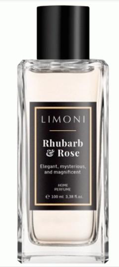 Limoni Парфюмерная вода Ревень и Чайная Роза Rhubarb &amp; Rose 100 млLimoni<br>Элегантный, загадочный, роскошный и волнующий аромат дарит нежность, окутывает сознание тающей дымкой неги и удовольствия.<br><br>Вес г: 130<br>Бренд : Limoni<br>Объем мл: 100<br>Страна производитель : Италия