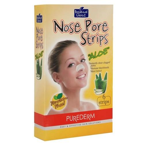 PUREDERM Полоски очищающие для носа Алоэ 6штPurederm<br>Полоски для очищения пор носа от кожного жира и черных точек. Сужают пори, сохраняют чистоту кожи. Действие:Очищающие полоски для носа Алоэ - это легкий и доступный способ очистить кожу. Специальные пластыри разработаны для глубокого очищения пор носа. Активные очищающие компоненты удаляют загрязнения и излишки кожного жира, оставляя кожу чистой и гладкой. Регулярное использование позволяет избавиться от черных точек, сузить поры и сохраняет кожу чистой и свежей.<br>Состав: Экстракт алоэ.<br>Применение: Тщательно очистите лицо, убедитесь в отсутствии кремов, лосьонов и прочих косметических средств. Высушите руки, вскройте упаковку и отделите полоски от пластиковой основы. Намочите область носа. Если этого не сделать, пластырь может приклеиться не достаточно хорошо. Приложите полоску на область носа блестящей стороной к коже. Прижмите и расправьте по поверхности для удаления воздушных пузырьков. Оставьте средство на коже на 10-15 минут или до полного высыхания. После того, как полоска высохла, аккуратно отделите ее от носа, легко потянув по направлению от краев к центру. Смойте.<br><br>Вес г: 150<br>Бренд : Purederm<br>Тип кожи : все типы кожи<br>Консистенция маски : подушечки/полоски<br>Часть лица : нос<br>По времени суток : дневной уход<br>Назначение маски : очищающая<br>Страна производитель : Корея