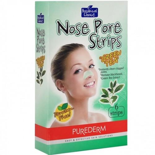 PUREDERM Полоски очищающие для носа Зеленый чай 6штPurederm<br>Полоски для глубокого очищения пор носа от кожного жира и черных точек. Сужают пори, оставляют кожу гладкой. Действие:Очищающие полоски для носа Зеленый чай - это легкий и доступный способ очистить кожу. Специальные пластыри разработаны для глубокого очищения пор носа. Активные очищающие компоненты удаляют загрязнения и излишки кожного жира, оставляя кожу чистой и гладкой. Регулярное использование позволяет избавиться от черных точек, сузить поры и сохраняет кожу чистой и свежей.<br>Состав: Экстракт зеленого чая.<br>Применение: Тщательно очистите лицо, убедитесь в отсутствии кремов, лосьонов и прочих косметических средств. Высушите руки, вскройте упаковку и отделите полоски от пластиковой основы. Намочите область носа. Если этого не сделать, пластырь может приклеиться не достаточно хорошо. Приложите полоску на область носа блестящей стороной к коже. Прижмите и расправьте по поверхности для удаления воздушных пузырьков. Оставьте средство на коже на 10-15 минут или до полного высыхания. После того, как полоска высохла, аккуратно отделите ее от носа, легко потянув по направлению от краев к центру. Смойте.<br><br>Вес г: 150<br>Бренд : Purederm<br>Тип кожи : все типы кожи<br>Консистенция маски : подушечки/полоски<br>Часть лица : нос<br>По времени суток : дневной уход<br>Назначение маски : очищающая<br>Страна производитель : Корея