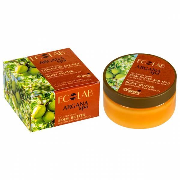 Ecolab SPA Крем-баттер для тела Гладкость и упругость кожиДля тела<br>Крем-баттер Ecolab для тела Гладкость и упругость.<br><br>Активные ингредиенты: масло макадамии, экстракт лотоса, масло кумвата, масло персика.<br>- Масло макадамии - восстанавливающее и омолаживающее масло, возвращающее коже ее былой тонус, упругость, эластичность, и увлажненность. <br>- Экстракт лотоса обладает выраженным смягчающим и увлажняющим действием.<br>- Масло кумквата стимулирует активность клеток, насыщает кожу витаминами.<br>- Масло персика эффективно успокаивает и освежает кожу.<br>Состав: вода,<br> настой коня имбиря, органическое масло какао, масло Макадамии, <br>органическое масло миндаля, экстракт лотоса, масло Кумвата, Сафлоровое <br>масло, масло Персика.<br>Способ применения: массажными движениями нанести небольшое количество крема на кожу до полного впитывания.Объем: 200 мл.<br><br>Вес г: 250<br>Бренд : Ecolab<br>Объем мл: 200<br>Страна производитель : Россия