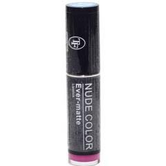 ТРИУМФ TF Помада для губ NUD COLOR ever-matt Lipstick (510 мат.фуксия)ТРИУМФ TF<br>Помада Nude Color Matte обеспечивает устойчивый результат:ультра-пигментированная, стойкая. Нежная текстура легко наносится и увлажняет, помада не ощущается на губах. Вместе с лёгкостью вы получаете стойкость до 4 часов! Коллекция включает в себя пудровые оттенки - модный бьюти-тренд в стиле Nude.<br><br>Вес г: 20<br>Бренд : Триумф TF<br>Упаковка помады : футляр (выдвижная)<br>Текстура помады : матовая<br>Свойства помады : питательная<br>Вид помады : классическая<br>Страна производитель : Польша