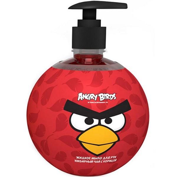 Angry Birds Мыло Жидкое для рук Имбирный чай с корицейAngry Birds<br>Глицериновое мыло на основе натуральных экологически чистых природных компонентов для деликатного очищения кожи с приятным пряным ароматом.<br>Пряный изысканный аромат мыла взбодрит, придаст энергии и наполнит теплом. Ощущение бодрости и легкости после разогревающего мыла будет сопутствовать Вам весь день.<br>Теперь ваш ребенок с удовольствием будет бежать мыть руки еще до того, как вы напомните ему об этом.<br>- Изготовлен на основе эфирных масел имбиря, корицы, красного перца и ванили.<br><br>Вес г: 600<br>Бренд: Angry Birds<br>Объем мл: 500<br>Страна производитель: Россия