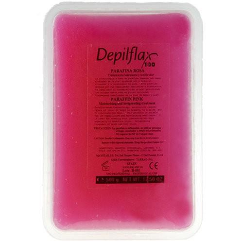 Depilflax Парафин,500гр. РозаDepilflax<br>Парафин с легким ароматом розы. В первую очередь рекомендован для сухой, обветренной кожи рук и потрескавшейся кожи ног. Применяется в SPA-процедурах для восстановления естественного баланса кожи. Парафин снимает раздражение, тонизирует и смягчает кожу, способствуя проникновению питательных веществ в её глубокие слои. Результат - гладкая и нежная кожа после парафинотерапии.<br><br>Вес г: 550<br>Бренд: Depilflax<br>Объем мл: 500