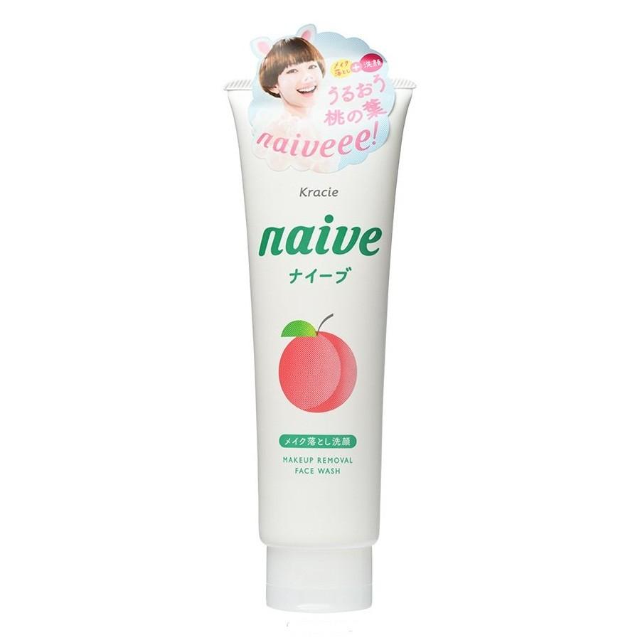 KANEBO NAIVE Пенка для умывания Персик, 130грKANEBO<br>Нежная пенка для нормальной и жирной кожи предотвращает возникновение прыщей и раздражения на коже.Пенка бережно и тщательно очищает поры, не нарушая естественный баланс кожи. <br>Содержит моющие вещества аминокислотной группы, которые эффективно абсорбирует любые загрязнения и избыток жировых веществ, выделяемых кожей. <br>Натуральный экстракт персикового дерева хорошо увлажняет кожу и предотвращает эффект стягивания после умывания.Объем: 130 мл<br><br>Вес г: 160<br>Бренд : Kanebo<br>Объем мл: 130<br>Тип кожи : комбинированная<br>Вид очищающего средства : пенка<br>Страна производитель : Япония