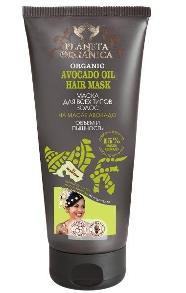 Planeta Organica Маска для всех типов волос Объем и Пышность АвокадоPlaneta Organica<br>Маска для всех типов волос, приготовлена на органическом масле авокадо, которое укрепит и увлажнит волосы по всей длине, подарит блеск, объем и здоровье вашим волосам.<br><br>Вес г: 280<br>Бренд: Planeta Organica<br>Объем мл: 250<br>Тип волос: все типы волос<br>Действие: увлажнение, для объема<br>Тип средства для волос: маска<br>Страна производитель: Россия