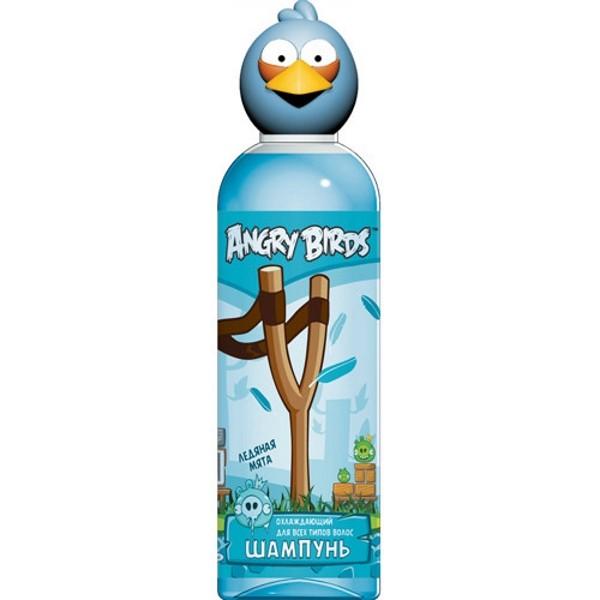 Angry Birds Шампунь охлаждающий для всех типов кожи ледяная мята Синяя птица ДжейAngry Birds<br>Испытай самый бодрящий шампунь из коллекции… ЛЕДЯНАЯ МЯТА… Бодрящий ментол и мята дадут новым заряд энергии твоим волосам.<br>Охлаждающий шампунь с ментолом и перечной мятой нормализует рН - баланс кожи головы, мягко тонизируя ее, что обеспечивает волосам полноценное питание. Ментол, в сочетании с эфирными маслами лайма и лимона, придает бодрость, улучшает настроение и дарит чувство легкой прохлады.<br>Применение: нанести массажными движениями на влажные волосы, смыть большим количеством воды.<br><br>Вес г: 250<br>Бренд: Angry Birds<br>Объем мл: 200<br>Страна производитель: Россия
