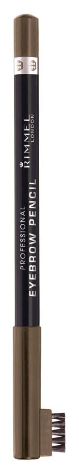 Rimmel Карандаш для бровей с щеточкой Professional Eyebrow Pencil Re-pack (002 hazel)Rimmel<br>Мягкая формула для легкого нанесения. Натуральные оттенки для идеального макияжа бровей. Удобная щеточка-расческа подготавливает брови для использования карандаша, а затем облегчает равномерное распределение цвета.<br>Состав:<br>гидрированные глицериды плодов пальмового дерева, гидрированное растительное масло, гидрированные глицериды пальмового дерева, синтетический пчелиный воск, карнаубский воск, пригмент<br><br>Вес г: 49<br>Бренд : Rimmel<br>Тип средства для бровей : карнадаш с щеточкой<br>Объем мл: 1<br>Страна производитель : Италия