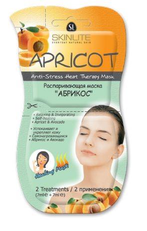 SKINLITE Распаривающая маска АБРИКОС (2 применения)Для лица<br>Распаривающая маска АБРИКОС от Скинлайт.• Успокаивает и укрепляет кожу• Самонагревающаяся• Абрикос и Авокадо*2 применения (7мл х 2шт)*Для всех типов кожиРаспаривающая маска для лица Skinlite АБРИКОС оказывает расслабляющее и одновременно укрепляющее действие на кожу. Благодаря специально разработанной формуле маска мгновенно нагревается при нанесении на кожу лица, эффект подобен прикладыванию теплого полотенца. Эта интенсивная укрепляющая маска, обогащенная экстрактами Абрикоса и Авокадо, глубоко удаляет загрязнения и излишки кожного жира из пор кожи, мягко отшелушивает мертвые частички, мгновенно придавая Вашей коже гладкость, свежесть и здоровый вид.<br><br>Вес г: 20<br>Бренд: Skinlite<br>Тип кожи: все типы кожи<br>Консистенция маски: распаривающая<br>Часть лица: лицо<br>По времени суток: дневной уход<br>Назначение маски: очищающая
