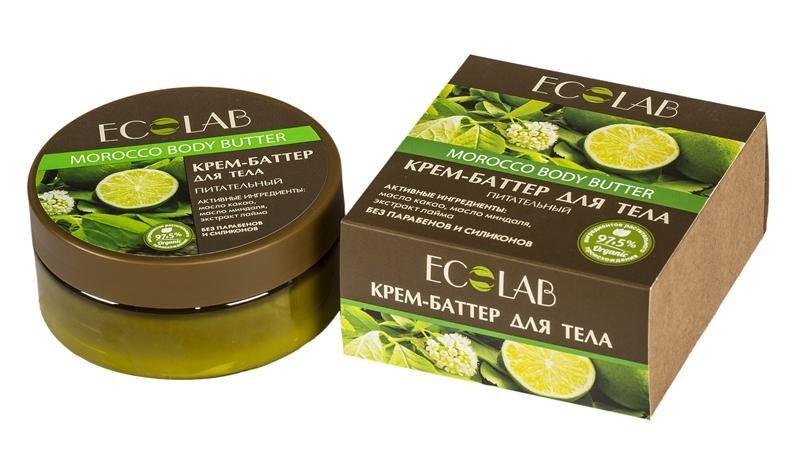 Ecolab Крем-баттер для тела ПитательныйДля тела<br>Кремы-баттеры ecolab содержат более 97% ингредиентов растительного происхождения. Входящее в состав органическое масло какао замечательно питает, увлажняет, смягчает, оживляет, и тонизирует кожу, делая ее еще более нежной, гладкой и сияющей. Оно придает крему-баттеру плотную и насыщенную текстуру.Продукт не содержит парабенов и силиконов.Органическое масло миндаля<br>Способствует хорошему увлажнению и смягчению кожи, устраняет сухость<br>Натуральное какао масло помогает справиться с уставшим и серым цветом лица, и может беспроблемно использоваться для ухода даже за самой чувствительной кожей.<br><br>Вес г: 170<br>Бренд : Ecolab<br>Объем мл: 150<br>Страна производитель : Россия