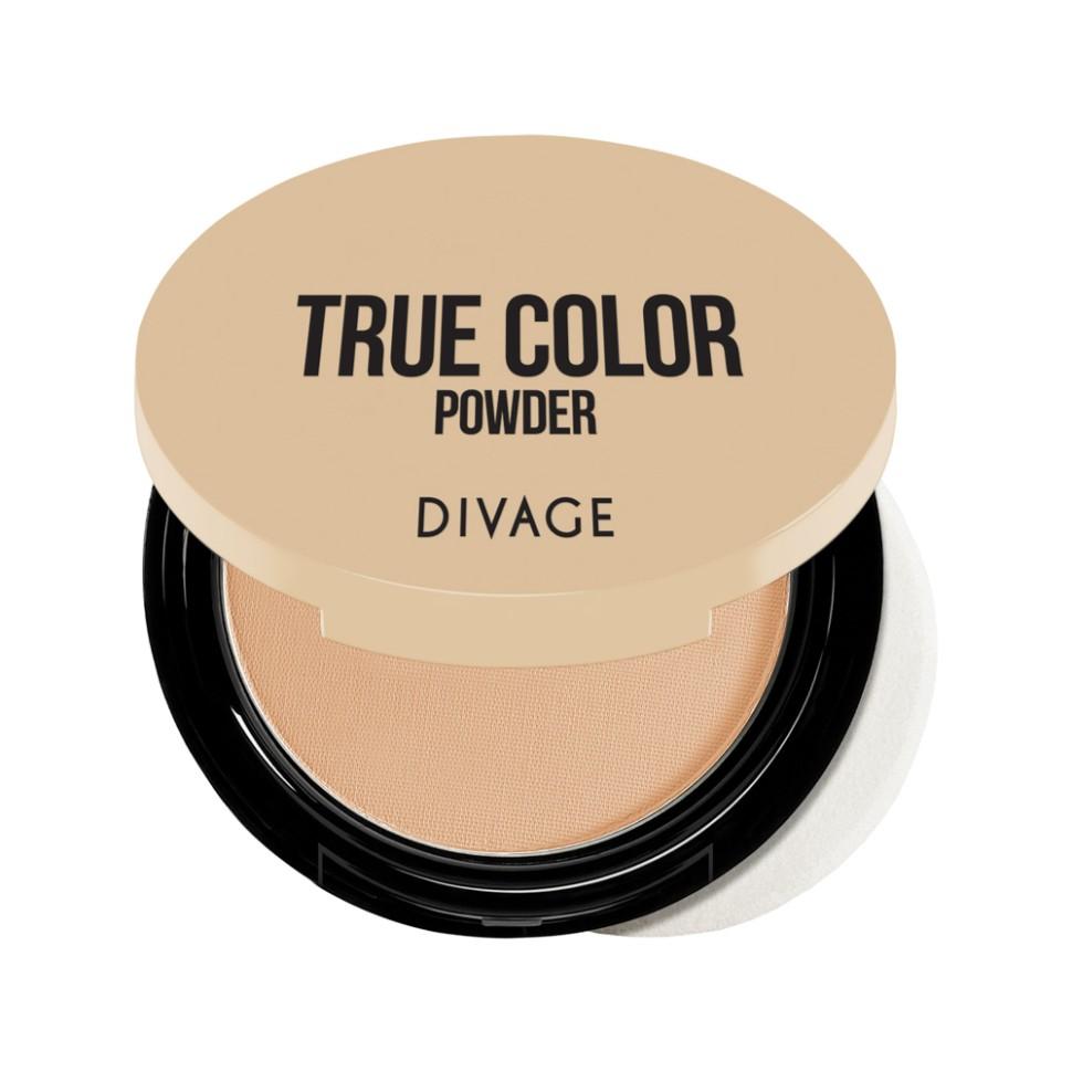 Divage Пудра компактная Compact Powder True Color (№03)Divage<br>Корректирующая легкая минеральная пудра TRUE COLOR с шелковистой невесомой текстурой покрывает кожу легкой вуалью. С её помощью можно придать лицу матовость и бархатистость. Пудра прекрасно скрывает мелкие несовершенства кожи и делает лицо ухоженным и чистым. Пудра идеально подходит для создания естественного свежего макияжа.<br>Особенности состава:<br>Советы от DIVAGE раскроют для тебя все грани этого продукта! Используй пудру не только для придания матовости коже лица, но и для завершения макияжа. Нанесение пудры последним этапом продлевает стойкость макияжа, поэтому лицо можно припудривать в течение всего дня. Перед нанесением пудры, сними излишки кожного жира с помощью салфетки, это поможет избежать эффекта маски.<br>Мнение эксперта:<br>Пудра просто незаменимый продукт в каждой косметичке! Советы от DIVAGE раскроют для тебя все грани этого продукта! Используй пудру не только для придания матовости коже лица, но и для завершения макияжа. Нанесение пудры последним этапом продлевает стойкость макияжа, поэтому лицо можно припудривать в течение всего дня. Перед нанесением пудры, сними излишки кожного жира с помощью салфетки, это поможет избежать эффекта маски. Матовая шелковистая кожа - это просто с DIVAGE!<br>Состав:<br>Состав: тальк, кукурузный крахмал, диметикон, триэтилгексаноин, цинк стеарат, циклопентасилоксан, феноксиэтанол, циклогексасилоксан, метилпарабен, CI 77492, этилпарабен, пропилпарабен, CI 77288, CI 77491, BHT, бутилпарабен, CI 77499.  Может содержать: CI 77891.<br><br>Вес г: 100<br>Бренд : Divage<br>Объем мл: 9<br>Эффект покрытия : матирование<br>Тип пудры : компактная<br>Зеркало : Да<br>В комплекте : пуховка<br>Страна производитель : Россия