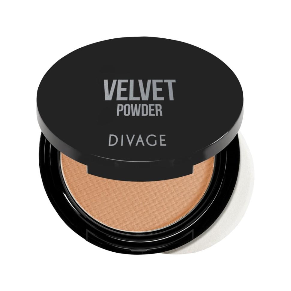 Divage Пудра компактная Velvet (№5203)Корректирующая пудра с микродисперсной структурой, покрывающая кожу тончайшим прозрачным слоем. С её помощью можно придать лицу матовость, бархатистость и скрыть мелкие недостатки. Формула обладает ухаживающим эффектом, она смягчает эпидермис, предотвращает потерю влаги и защищает от агрессивного воздействия солнца. Масло аргании, входящее в состав формулы, защищает кожу от преждевременного старения.<br>Пудра просто незаменимый продукт в каждой косметичке! Советы от DIVAGE раскроют для тебя все грани этого продукта! Используй пудру не только для придания матовости коже лица, но и для завершения макияжа. Нанесение пудры последним этапом продлевает стойкость макияжа, поэтому лицо можно припудривать в течение всего дня. Перед нанесением пудры, сними излишки кожного жира с помощью салфетки, это поможет избежать эффекта маски. Матовая шелковистая кожа - это просто с DIVAGE!<br>Состав:<br>Talk, Zea Mays Starch (Zea Mays (Corn) Starch), Zinc Stearate, Dimethicone, Pentaerythrityl Tetraisostearate, Octyldodecyl Stearoyl Stearate, Silica, Nylon-12, Potassium Sorbate, Chlorphenesin, Diisostearyl Malate, Argania Spinosa Kernel Oil, HDI/Trimethylol Hexyllactone Crosspolymer, CI 77492 (Iron Oxides), CI 77491 (Iron Oxides), CI 77891 (Titanium Dioxide), CI 77499 (Iron Oxides)<br><br>Вес г: 100<br>Бренд : Divage<br>Объем мл: 9<br>Эффект покрытия : матирование<br>Тип пудры : компактная<br>Зеркало : Да<br>В комплекте : пуховка<br>Страна производитель : Россия