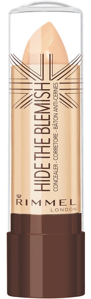 Rimmel Корректирующий карандаш Hide The Blemish (№004)Rimmel<br>Кремовая текстура для легкого нанесения на кожу. Маскирует покраснения и несовершенства кожи. Можно использовать как базу под тени для большей стойкости и насыщенности цвета.<br>Состав:<br>ISOPROPYL PALMITATE, CETEARYL ETHYLHEXANOATE, PARAFFIN, TALC, POLYETHYLENE, CAPRYLIC/CAPRIC TRIGLYCERIDE, MICROCRISTALLINA CERA/MICROCRYSTALLINE WAX/CIRE MICROCRYSTALLINE, POLYISOBUTENE, MICA, SILICA, VP/EICOSENE COPOLYMER, ZEA MAYS (CORN) STARCH, LECITHIN, SORBITAN SESQUIOLEATE, PHENOXYETHANOL, METHYLPARABEN, TOCOPHERYL ACETATE, PROPYLPARABEN, SYNTHETIC WAX, ETHYLPARABEN<br><br>Вес г: 46<br>Бренд : Rimmel<br>Объем мл: 4<br>Вид корректора : твердый<br>Страна производитель : Великобритания