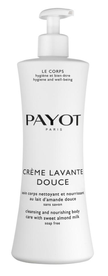 Payot Corps Очищающая крем-пенка для тела 400 млPayot<br>Очищающая крем-пенка для тела подходит для любой, даже самой чувствительной кожи тела. Она деликатно очищает кожу от загрязнений, смягчает жесткость воды, защищает кожу от сухости, увлажняет.<br>Способ применения:<br>При принятии душа нанесите средство на влажную кожу и волосы, вспеньте, затем тщательно смойте водой.<br>Состав:<br>AQUA (WATER), MAGNESIUM LAURETH SULFATE, DECYL GLUCOSIDE, GLYCERIN, COCAMIDOPROPYL BETAINE, SODIUM CHLORIDE, SWEET ALMOND OIL PEG-8 ESTERS, STYRENE/ACRYLATES COPOLYMER, PARFUM (FRAGRANCE), PHENOXYETHANOL, PEG-120 METHYL GLUCOSE DIOLEATE, DMDM HYDANTOIN, COCONUT ACID, CITRIC ACID, SHOREA STENOPTERA SEED BUTTER<br><br>Вес г: 489<br>Бренд : Payot<br>Объем мл: 400<br>Возраст : 3<br>Страна производитель : Франция