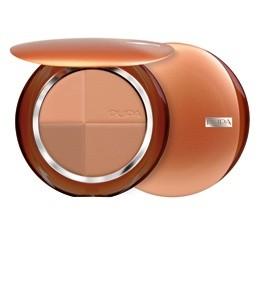 Pupa компактная бронзирующая пудра SPF15 (01 rose harmony)Pupa<br>Pupa бронзирующая пудра - идеальное средство для придания Вашему лицу золотистого оттенка.Новая компактная пудра с полихромным эффектом постепенного загара состоит из 4-х натуральных и матовых оттенков, которые могут использоваться по отдельности или комбинироваться между собой в зависимости от времени года и Вашего оттенка кожи.В результате Вы получаете естественный сияющий цвет лица без изъянов благодаря пигментам «Soft Focus», отражающим свет.Бронзер Пупа имеет воздушную, шелковистую основу, которая прекрасно ложится и легко наносится и растушевывается.Полихромная гамма из 4-х оттенков эффектно подчеркнет Ваш естественный цвет лица.Пигменты «Soft Focus»:- Частички, составляющие основу пигментов нового поколения «Soft Focus», отражают свет и минимизируют недостатки и мелкие морщины, облагораживая лицо и делая кожу гладкой и сияющей.- Содержат Витамины Е, C и Лецитин.- Антиоксидантные компоненты способствуют замедлению процесса старения кожи.- Средняя защита от солнца SPF 15.- Без парабенов.Советы по применению:Если у вас на лице нет загара- Кисточкой для пудры с эффектом загара круговыми движениями нанесите на лицо оттенки 1 и 2, начиная с центральных зон лица, растушевывая по направлению к контуру.- Чтобы придать Вашей коже более теплый цвет, используйте оттенок 3 вместо румян на скулах и контуре лица.- И наконец, оттенок 1, нанесенный на неподвижные веки, сделает кожу ровной, а взгляд более выразительным.Если у вас на лице средне-интенсивый загар- Кисточкой для пудры с эффектом загара круговыми движениями нанесите на лицо оттенки 2 и 3, начиная с центральных зон лица, растушевывая по направлению к контуру.- Чтобы придать Вашей коже более теплый цвет, используйте оттенок 4 вместо румян на скулах и контуре лица.- И наконец, оттенок 1, нанесенный на неподвижные веки, сделает кожу ровной, а взгляд более выразительным.Если у вас на лице сильный загар- Кисточкой для пудры с эффектом загара смешайте все 