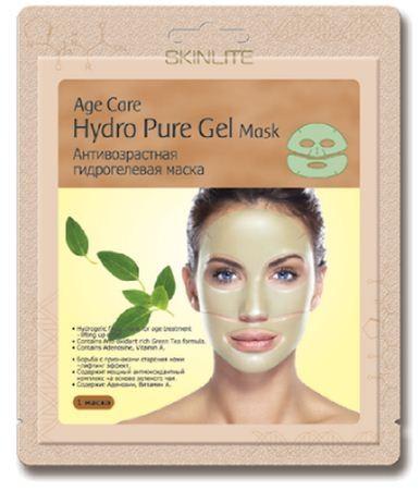 SKINLITE Антивозрастная гидрогелевая маскаДля лица<br>Антивозрастная гидрогелевая маска от Skinlite.• Борьба с признаками старения кожи - лифтинг эффект• Содержит мощный антиоксидантный комплекс на основе зеленого чая• Содержит Аденозин, Витамин АУникальная основа из тончайшего гидрогеля позволяет маске абсолютно плотно прилегать к коже лица и, благодаря этому, достигается максимальный эффект проникновения активных ингредиентов в клетки кожи. Входящие в состав маски Аденозин, экстракт зеленого чая, витамин А и другие натуральные компоненты оказывают глубоко увлажняющее, восстанавливающее воздействие и эффективно борются с признаками старения кожи. Во время процедуры Вы заметите, что вместе с поглощением кожей активных ингредиентов, маска становится тоньше.Результат:После применения гидрогелевой маски Skinlite кожа выглядит значительно моложе: поверхностные и глубокие морщины разглаживаются, повышается упругость и эластичность кожи.<br><br>Вес г: 15<br>Бренд : Skinlite<br>Тип кожи : все типы кожи<br>Консистенция маски : гидролевая<br>Часть лица : лицо<br>По времени суток : дневной уход<br>Назначение маски : увлажняющая, омолаживающая