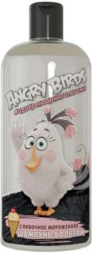 Angry Birds Шампунь-бальзам 2в1 сливочное Мороженное Белая птица МатильдаAngry Birds<br>Насладись самым нежным ароматом из коллекции… СЛИВОЧНОЕ МОРОЖЕНОЕ… Сладкий аромат нежного сливочного мороженого - настоящее удовольствие для гурманов!<br>- Питательный шампунь благодаря кокосовому маслу в составе, придает волосам силу и блеск, препятствует их выпадению и устраняя эффект секущихся кончиков. <br>- Эфирные масла корицы и бергамота улучшают общее состояние волос, способствует их здоровому росту. <br>- Д-пантенол увлажняет стержень волоса, повышая его эластичность.<br><br>Вес г: 300<br>Бренд: Angry Birds<br>Объем мл: 250<br>Страна производитель: Россия