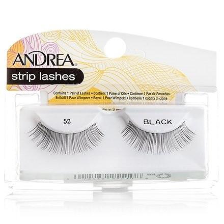ANDREA Mod Lash Strip Lashes Ресницы накладные 52Andrea<br>Длинные объёмные накладные ресницы Andrea Mod Lash № 52 сделают ваш взгляд выразительным. Прекрасно подходят для макияжа в стиле smoky eyes.<br><br>Вес г: 50<br>Бренд : Andrea<br>Тип продукта : ресницы<br>Страна производитель : США