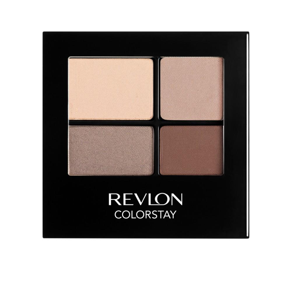 Revlon Тени для век четырехцветные Colorstay Eye 16 Hour Eye Shadow Quad (500 Addictive)Revlon<br>Colorstay 16 Hour Sahdow - роскошные тени для век с шелковистой текстурой и невероятно стойкой формулой. Теперь ваш макияж сохранит свой безупречный вид не менее 16 часов! Все оттенки гармонично сочетаются друг с другом и легко смешиваются, позволяя создать бесконечное количество вариантов макияжа глаз: от нежных, естественных, едва заметных, до ярких, выразительных, драматических. На оборотной стороне продукта приведена схема нанесения.Способ применения:<br>аккуратно нанести на веки специальной кисточкой<br>Состав:<br>MICA, BORON NITRIDE, BISMUTH OXYCHLORIDE, DIMETHICONE, NYLON-12, POLYMETHYL METHACRYLATE, ZINC STEARATE, POLYETHYLENE, METIHIICONE, PHENOXYETHANOL, POLYGLYCERYL-4 ISOSTEARATE, DIMETHICONOL, TRIMETHYLSILOXYSILICATE, DIISOSTEARYL MALATE, LAURYL PEG/PPG-18118 METHICONE, SORBIC ACID, LAURYL METHACRYLATEI/GLYCOL DIMETHACRYLATE CROSSPOLYMER, SILICA SILYLATE, LECITHIN, SYNTHETIC FLUORPHLOGOPITE, CALCIUM ALUMINUM BOROSILICATE, SILICA, TRIETHOXYCAPRYLYLSILANE, YELLOW IRON OXIDE (CI 77492), TITANIUM DIOXIDE (CI 77891), RED IRON OXIDE (CI 77491)<br><br>Вес г: 77<br>Бренд : Revlon<br>Объем мл: 42<br>В комплекте : аппликатор<br>Способ нанесения : сухой<br>Эффект на веках : матовый<br>Тип теней : компактные<br>Страна производитель : СОЕДИНЕННЫЕ ШТАТЫ АМЕРИКИ