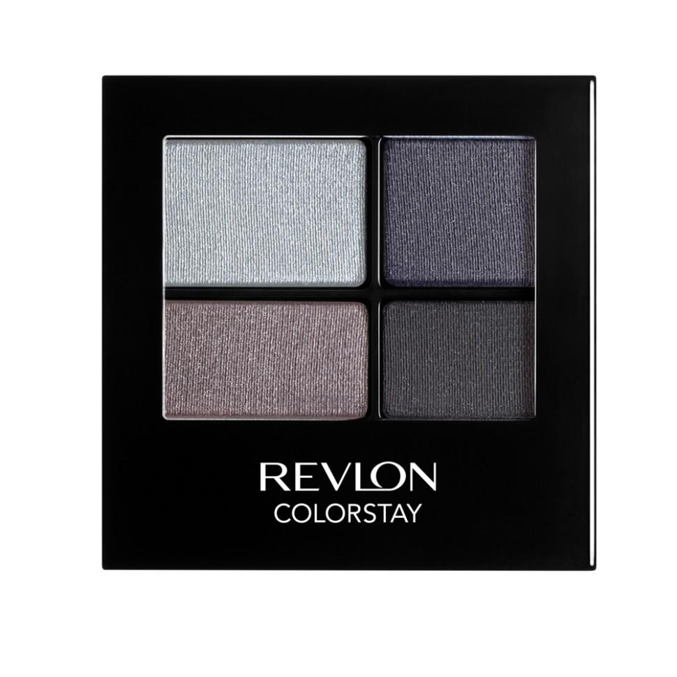 Revlon Тени для век четырехцветные Colorstay Eye 16 Hour Eye Shadow Quad (525 Siren)Revlon<br>Colorstay 16 Hour Sahdow - роскошные тени для век с шелковистой текстурой и невероятно стойкой формулой. Теперь ваш макияж сохранит свой безупречный вид не менее 16 часов! Все оттенки гармонично сочетаются друг с другом и легко смешиваются, позволяя создать бесконечное количество вариантов макияжа глаз: от нежных, естественных, едва заметных, до ярких, выразительных, драматических. На оборотной стороне продукта приведена схема нанесения.Способ применения:<br>аккуратно нанести на веки специальной кисточкой<br>Состав:<br>MICA, BORON NITRIDE, BISMUTH OXYCHLORIDE, DIMETHICONE, NYLON-12, POLYMETHYL METHACRYLATE, ZINC STEARATE, POLYETHYLENE, METIHIICONE, PHENOXYETHANOL, POLYGLYCERYL-4 ISOSTEARATE, DIMETHICONOL, TRIMETHYLSILOXYSILICATE, DIISOSTEARYL MALATE, LAURYL PEG/PPG-18118 METHICONE, SORBIC ACID, LAURYL METHACRYLATEI/GLYCOL DIMETHACRYLATE CROSSPOLYMER, SILICA SILYLATE, LECITHIN, SYNTHETIC FLUORPHLOGOPITE, CALCIUM ALUMINUM BOROSILICATE, SILICA, TRIETHOXYCAPRYLYLSILANE, YELLOW IRON OXIDE (CI 77492), TITANIUM DIOXIDE (CI 77891), RED IRON OXIDE (CI 77491)<br><br>Вес г: 77<br>Бренд : Revlon<br>Объем мл: 42<br>В комплекте : аппликатор<br>Способ нанесения : сухой<br>Эффект на веках : матовый<br>Тип теней : компактные<br>Страна производитель : СОЕДИНЕННЫЕ ШТАТЫ АМЕРИКИ