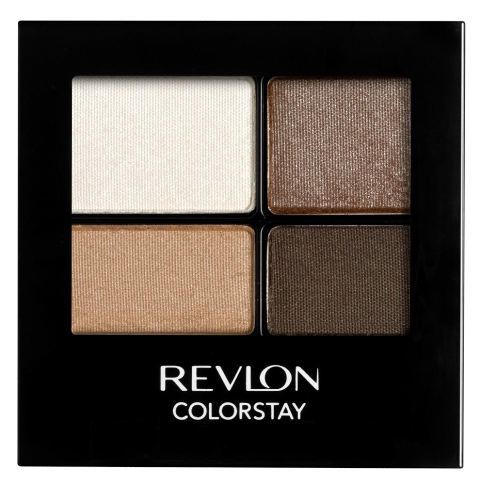 Revlon Тени для век четырехцветные Colorstay Eye 16 Hour Eye Shadow Quad (555 Moonlit)Revlon<br>Colorstay 16 Hour Sahdow - роскошные тени для век с шелковистой текстурой и невероятно стойкой формулой. Теперь ваш макияж сохранит свой безупречный вид не менее 16 часов! Все оттенки гармонично сочетаются друг с другом и легко смешиваются, позволяя создать бесконечное количество вариантов макияжа глаз: от нежных, естественных, едва заметных, до ярких, выразительных, драматических. На оборотной стороне продукта приведена схема нанесения.Способ применения:<br>аккуратно нанести на веки специальной кисточкой<br>Состав:<br>MICA, BORON NITRIDE, BISMUTH OXYCHLORIDE, DIMETHICONE, NYLON-12, POLYMETHYL METHACRYLATE, ZINC STEARATE, POLYETHYLENE, METIHIICONE, PHENOXYETHANOL, POLYGLYCERYL-4 ISOSTEARATE, DIMETHICONOL, TRIMETHYLSILOXYSILICATE, DIISOSTEARYL MALATE, LAURYL PEG/PPG-18118 METHICONE, SORBIC ACID, LAURYL METHACRYLATEI/GLYCOL DIMETHACRYLATE CROSSPOLYMER, SILICA SILYLATE, LECITHIN, SYNTHETIC FLUORPHLOGOPITE, CALCIUM ALUMINUM BOROSILICATE, SILICA, TRIETHOXYCAPRYLYLSILANE, YELLOW IRON OXIDE (CI 77492), TITANIUM DIOXIDE (CI 77891), RED IRON OXIDE (CI 77491)<br><br>Вес г: 77<br>Бренд : Revlon<br>Объем мл: 42<br>В комплекте : аппликатор<br>Способ нанесения : сухой<br>Эффект на веках : матовый<br>Тип теней : компактные<br>Страна производитель : СОЕДИНЕННЫЕ ШТАТЫ АМЕРИКИ
