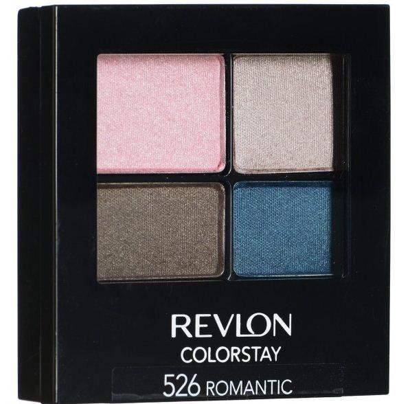 Revlon Тени для век четырехцветные Colorstay Eye 16 Hour Eye Shadow Quad (526 Romantic)Revlon<br>Colorstay 16 Hour Sahdow - роскошные тени для век с шелковистой текстурой и невероятно стойкой формулой. Теперь ваш макияж сохранит свой безупречный вид не менее 16 часов! Все оттенки гармонично сочетаются друг с другом и легко смешиваются, позволяя создать бесконечное количество вариантов макияжа глаз: от нежных, естественных, едва заметных, до ярких, выразительных, драматических. На оборотной стороне продукта приведена схема нанесения.Способ применения:<br>аккуратно нанести на веки специальной кисточкой<br>Состав:<br>MICA, BORON NITRIDE, BISMUTH OXYCHLORIDE, DIMETHICONE, NYLON-12, POLYMETHYL METHACRYLATE, ZINC STEARATE, POLYETHYLENE, METIHIICONE, PHENOXYETHANOL, POLYGLYCERYL-4 ISOSTEARATE, DIMETHICONOL, TRIMETHYLSILOXYSILICATE, DIISOSTEARYL MALATE, LAURYL PEG/PPG-18118 METHICONE, SORBIC ACID, LAURYL METHACRYLATEI/GLYCOL DIMETHACRYLATE CROSSPOLYMER, SILICA SILYLATE, LECITHIN, SYNTHETIC FLUORPHLOGOPITE, CALCIUM ALUMINUM BOROSILICATE, SILICA, TRIETHOXYCAPRYLYLSILANE, YELLOW IRON OXIDE (CI 77492), TITANIUM DIOXIDE (CI 77891), RED IRON OXIDE (CI 77491)<br><br>Вес г: 77<br>Бренд : Revlon<br>Объем мл: 42<br>В комплекте : аппликатор<br>Способ нанесения : сухой<br>Эффект на веках : матовый<br>Тип теней : компактные<br>Страна производитель : СОЕДИНЕННЫЕ ШТАТЫ АМЕРИКИ