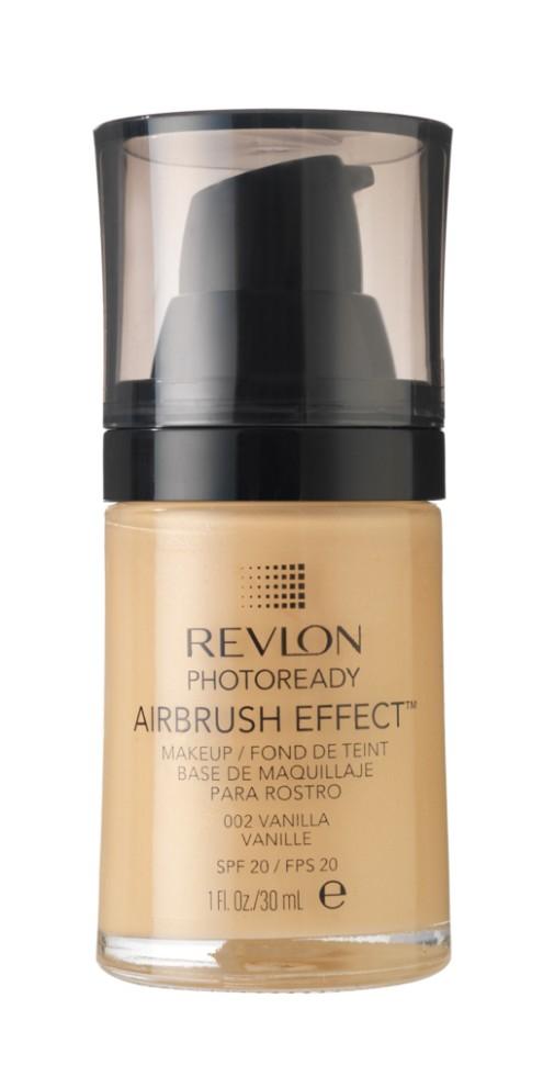 Revlon Тональный крем Photoready Airbrush Effect Makeup (002 Vanilla)Revlon<br>Revlon PhotoReady Airbrush Effect™ Makeup - инновационная тонирующая основа под макияж - эффект профессиональной кисти air brush. Суперпигментированное средство для стойкого покрытия без эффекта маски. Технология свето-фильтра и мягкие пигменты рассеивают свет, создавая эффект сияющей кожи. Легкая формула обеспечивает идеальное покрытие . Содержит светозащитный фильтр SPF 20. Не содержит масел и отдушек.Способ применения:<br>Наносите крем легкими разглаживающими движениями от центра к контурам с помощью кисти или пальцев, затем растушуйте на границе нанесения: у линии роста волос, в области шеи и ушей.<br>Описание:<br>Состав:<br>AQUA((WATER)EAU, CYCLOPENTASILOXANE, DIMETHICONE, CYCLOHEXASILOXANE, BUTYLENE GLYCOL, BORON NITRIDE, CETYL PEG/PPG-10/1 DIMETHICONE, PHENYL TRIMETHICONE, PEG/PPG-18/18 DIMETH!CONE, SODIUM CHLORIDE, NYLON-12, HDI/TRIMETHYLOL HEXYLLACTONE CROSSPOLYMER, ALUMlNA, TRIMETHYLSILOXYSILICATE, PHENOXYETHANOL, GLYCERIN, BIS-PEG/PPG-14/14 DIMETH1CONE, ISODECYL NEOPENTANOATE, TRISlLOXANE, CAPRYLYL GLYCOL, 1, 2-HEXANEDIOL, METHICONE, TRIETHOXYCAPRYLYLSILANE, TRIBEHENIN, DIMETHlCONE/BlS-lSOBUTYL PPG-20 CROSSPOLYMER, METHYL METHACRYLATE CROSSPOLYMER, CALCIUM ALUMINUM BOROSILICATE, SILICA, CYCLOHEPTASILOXANE, SORBTIAN SESQUIOLEATE, TETRASODIUM EDTA, TITANIUM DIOXIDE (Cl 77891), MICA, YELLOW IRON OXIDE (Cl 77492), RED IRON OXIDE (C177491), BLACK IRON OXIDE (Cl 77499), ZINC OXIDE (Cl 77947)<br><br>Вес г: 187<br>Бренд : Revlon<br>Объем мл: 30<br>Упаковка : с дозатором<br>Тип кожи : все типы кожи<br>Степень покрытия : легкая<br>Эффект от нанесения : выравнивающий<br>Тип тонального средства : крем<br>Фактор SPF : 20<br>Страна производитель : СОЕДИНЕННЫЕ ШТАТЫ АМЕРИКИ