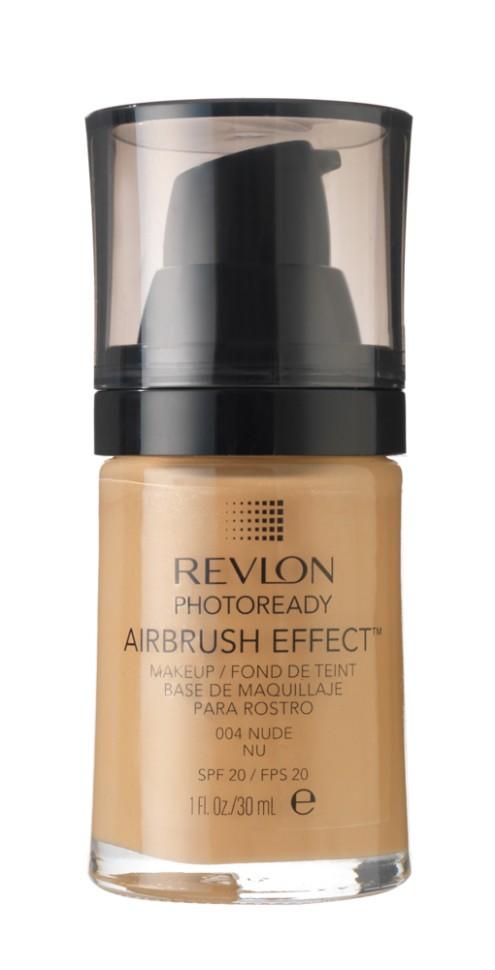 Revlon Тональный крем Photoready Airbrush Effect Makeup (004 Nude)Revlon<br>Revlon PhotoReady Airbrush Effect™ Makeup - инновационная тонирующая основа под макияж - эффект профессиональной кисти air brush. Суперпигментированное средство для стойкого покрытия без эффекта маски. Технология свето-фильтра и мягкие пигменты рассеивают свет, создавая эффект сияющей кожи. Легкая формула обеспечивает идеальное покрытие . Содержит светозащитный фильтр SPF 20. Не содержит масел и отдушек.Способ применения:<br>Наносите крем легкими разглаживающими движениями от центра к контурам с помощью кисти или пальцев, затем растушуйте на границе нанесения: у линии роста волос, в области шеи и ушей.<br>Описание:<br>Состав:<br>AQUA((WATER)EAU, CYCLOPENTASILOXANE, DIMETHICONE, CYCLOHEXASILOXANE, BUTYLENE GLYCOL, BORON NITRIDE, CETYL PEG/PPG-10/1 DIMETHICONE, PHENYL TRIMETHICONE, PEG/PPG-18/18 DIMETH!CONE, SODIUM CHLORIDE, NYLON-12, HDI/TRIMETHYLOL HEXYLLACTONE CROSSPOLYMER, ALUMlNA, TRIMETHYLSILOXYSILICATE, PHENOXYETHANOL, GLYCERIN, BIS-PEG/PPG-14/14 DIMETH1CONE, ISODECYL NEOPENTANOATE, TRISlLOXANE, CAPRYLYL GLYCOL, 1, 2-HEXANEDIOL, METHICONE, TRIETHOXYCAPRYLYLSILANE, TRIBEHENIN, DIMETHlCONE/BlS-lSOBUTYL PPG-20 CROSSPOLYMER, METHYL METHACRYLATE CROSSPOLYMER, CALCIUM ALUMINUM BOROSILICATE, SILICA, CYCLOHEPTASILOXANE, SORBTIAN SESQUIOLEATE, TETRASODIUM EDTA, TITANIUM DIOXIDE (Cl 77891), MICA, YELLOW IRON OXIDE (Cl 77492), RED IRON OXIDE (C177491), BLACK IRON OXIDE (Cl 77499), ZINC OXIDE (Cl 77947)<br><br>Вес г: 187<br>Бренд : Revlon<br>Объем мл: 30<br>Упаковка : с дозатором<br>Тип кожи : все типы кожи<br>Степень покрытия : легкая<br>Эффект от нанесения : выравнивающий<br>Тип тонального средства : крем<br>Фактор SPF : 20<br>Страна производитель : СОЕДИНЕННЫЕ ШТАТЫ АМЕРИКИ