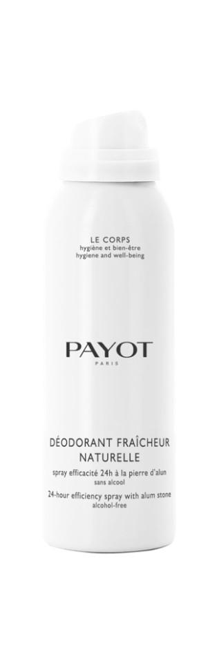 Payot Corps Дезодорант-спрей 125 млPayot<br>Безалкогольный дезодорант обеспечивает гигиену в течение дня, прекрасно смягчает и успокаивает кожу после эпиляции и бритья.<br>Способ применения:<br>Наносите дезодорант на чистую сухую кожу подмышек.<br>Состав:<br>BUTANE,PROPANE, ISODODECANE, ISOBUTANE, POTASSIUM ALUM, DIMETHICONE, PRUNUS AMYGDALUS DULCIS (SWEET ALMOND) OIL, DISTEARDIMONIUM HECTORITE, PARFUM (FRAGRANCE), DIMETHICONOL, PROPYLENE CARBONATE<br><br>Вес г: 139<br>Бренд : Payot<br>Объем мл: 125<br>Тип дезодоранта : спрей<br>Возраст : 15<br>Страна производитель : Франция