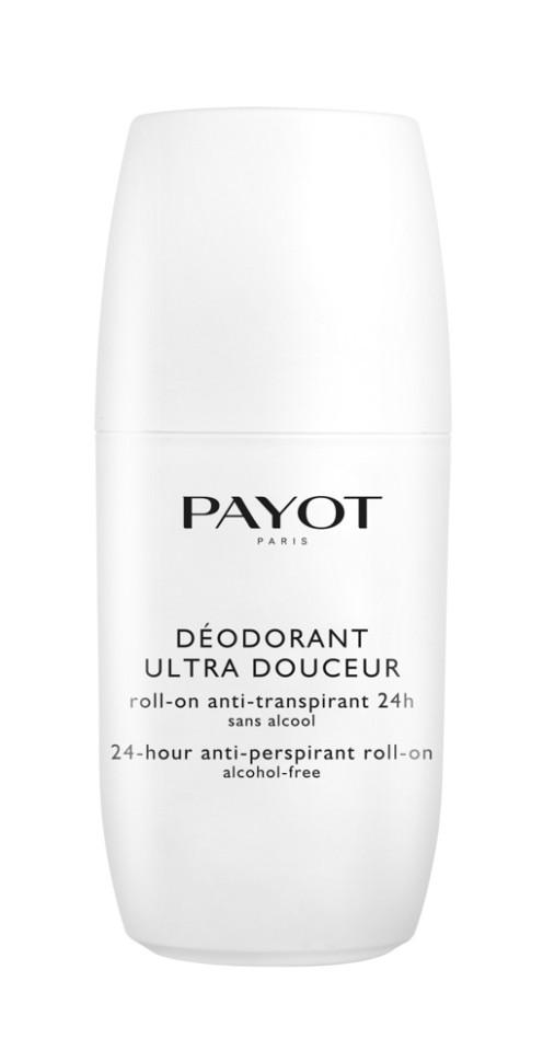 Payot Corps Дезодорант-ролик 75 млPayot<br>Безалкогольный антиперсперант обеспечивает гигиену в течение дня, прекрасно смягчает и успокаивает кожу после эпиляции и бритья.<br>Способ применения:<br>Наносите дезодорант на чистую сухую кожу подмышек.<br>Состав:<br>AQUA (WATER), ALUMINUM CHLOROHYDRATE, DIMETHICONE, PROPYLENE GLYCOL, STEARETH-2, CYCLOPENTASILOXANE, CYCLOHEXASILOXANE, STEARETH-21, ETHYLHEXYLGLYCERIN, DISODIUM EDTA, BISABOLOL, PARFUM (FRAGRANCE), LIMONENE, LINALOOL, HEXYL CINNAMAL, HYDROXYCITRONELLAL, CITRAL, COUMARIN<br><br>Вес г: 162<br>Бренд : Payot<br>Объем мл: 75<br>Тип дезодоранта : шариковый<br>Возраст : 16<br>Страна производитель : Франция