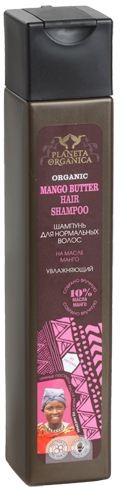Planeta Organica Шампунь для нормальных волос МангоPlaneta Organica<br>ORGANIC MANGO ButtER 10% — увлажняющий шампунь для нормальных волос, приготовлен на богатом витаминами органическом манговом масле, которое активно увлажняет и восстанавливает структуру волос. После применения шампуня с манговым маслом волосы станут блестящими, здоровыми и красивыми.<br><br>Вес г: 280<br>Бренд : Planeta Organica<br>Объем мл: 250<br>Тип волос : нормальные<br>Действие : увлажнение, восстановление, блеск и эластичность<br>Тип средства для волос : шампунь<br>Страна производитель : Россия