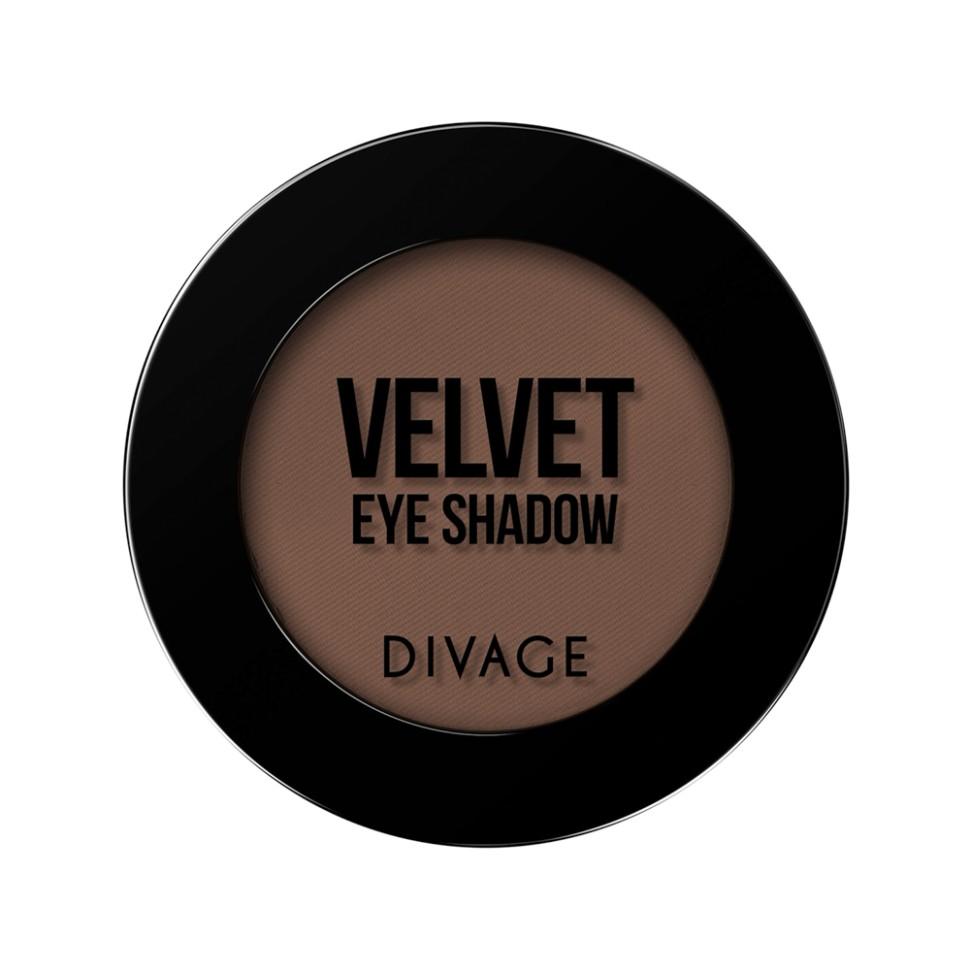 Divage Тени для век Velvet (7302 коричневый)Divage<br>Тени VELVET это, то, что тебе нужно, главный тренд в макияже, насыщенные оттенки, профессиональные текстуры, ультра-стойкий эффект. Всё это было секретом визажистов, теперь этот секрет доступен и тебе! Палитра из 21 оттенка, позволяет создать великолепный образ для любого события. Текстура теней VELVET напоминает бархат, благодаря своей шелковистой формуле тени легко растушевываются по поверхности века, позволяя комбинировать между собой все оттенки палитры. Тени идеально подходят для жирной кожи век, за счёт своей плотной пудровой текстуры тени не осыпаются и не собираются в складках века, сохраняя идеально ровное покрытие до 8 часов.<br>Используя тени для макияжа глаз от DIVAGE, ты легко можешь меняться каждый день, создавая различные образы. Но как выбрать свой оттенок в таком многообразий Выбирай контрастные оттенки теней к твоему цвету глаз. Карие глаза хорошо подчеркнут зелёные и фиолетовые оттенки, все оттенки коричневого придадут выразительности зелёным глазкам, для серых и голубых больше всего подойду оттенки кораллового, золотого и розового. С макияжем выполненным тенями DIVAGE твой взгляд будет ещё притягательней!<br>Состав:<br>Talk, Zea Mays Starch, Zinc Stearate, Silica, Dimethicone, Isononyl Isononanoate, Mica, Capric/Caprylic Triglyceride, Zeolite, Sorbic Acid, Methylparaben, Synthetic Beeswax, Propylparaben, Tetrasodium EDTA, Butylparaben, Dimethiconol, BNT, Commiphora Mukul Resin Extract.  Может содержать: Chlorphenesin, Potassium Sorbate, CI 77891, CI 77491, CI 77492, CI 77499, CI 77742, CI 77007, CI 75470, CI 77510, CI 77288, CI 77289, CI 42090, CI 19140<br><br>Вес г: 47<br>Бренд : Divage<br>Объем мл: 3<br>В комплекте : аппликатор<br>Способ нанесения : сухой<br>Эффект на веках : матовый<br>Тип теней : компактные<br>Страна производитель : Россия