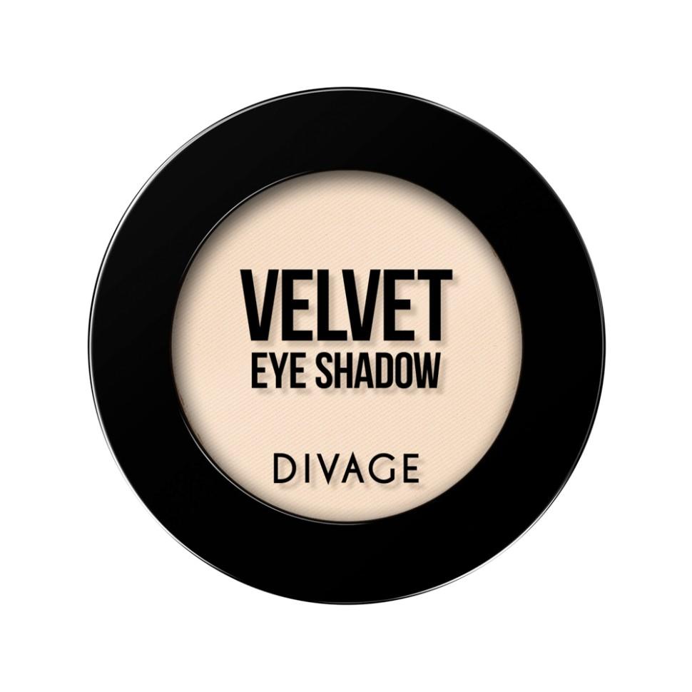 Divage Тени для век Velvet (7312 кремовый)Divage<br>Тени VELVET это, то, что тебе нужно, главный тренд в макияже, насыщенные оттенки, профессиональные текстуры, ультра-стойкий эффект. Всё это было секретом визажистов, теперь этот секрет доступен и тебе! Палитра из 21 оттенка, позволяет создать великолепный образ для любого события. Текстура теней VELVET напоминает бархат, благодаря своей шелковистой формуле тени легко растушевываются по поверхности века, позволяя комбинировать между собой все оттенки палитры. Тени идеально подходят для жирной кожи век, за счёт своей плотной пудровой текстуры тени не осыпаются и не собираются в складках века, сохраняя идеально ровное покрытие до 8 часов.<br>Используя тени для макияжа глаз от DIVAGE, ты легко можешь меняться каждый день, создавая различные образы. Но как выбрать свой оттенок в таком многообразий Выбирай контрастные оттенки теней к твоему цвету глаз. Карие глаза хорошо подчеркнут зелёные и фиолетовые оттенки, все оттенки коричневого придадут выразительности зелёным глазкам, для серых и голубых больше всего подойду оттенки кораллового, золотого и розового. С макияжем выполненным тенями DIVAGE твой взгляд будет ещё притягательней!<br>Состав:<br>Talk, Zea Mays Starch, Zinc Stearate, Silica, Dimethicone, Isononyl Isononanoate, Mica, Capric/Caprylic Triglyceride, Zeolite, Sorbic Acid, Methylparaben, Synthetic Beeswax, Propylparaben, Tetrasodium EDTA, Butylparaben, Dimethiconol, BNT, Commiphora Mukul Resin Extract.  Может содержать: Chlorphenesin, Potassium Sorbate, CI 77891, CI 77491, CI 77492, CI 77499, CI 77742, CI 77007, CI 75470, CI 77510, CI 77288, CI 77289, CI 42090, CI 19140<br><br>Вес г: 47<br>Бренд : Divage<br>Объем мл: 3<br>В комплекте : аппликатор<br>Способ нанесения : сухой<br>Эффект на веках : матовый<br>Тип теней : компактные<br>Страна производитель : Россия