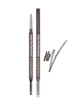 Limoni Карандаш для бровей Super Slim Brow Pencil (№01)Косметика для век<br>Ультратонкий автоматический карандаш для бровей Super Slim Brow Pencil от Limoni придает бровям ухоженный и естественный вид.Натуральные оттенки подходят к любому цвету волос и кожи. Не смазывается в течении дня благодаря восковой основе, витамину Е и минеральным пигментам.Рекомендации по нанесению:Расчешите брови с помощью щеточки. Подчеркните форму бровей,проведя карандашом легкие отрывистые линии. Растушуйте щеточкой для равномерного распределения цвета,расчесав брови.Не содержит: минеральных масел,парафинов, парабенов!<br><br>Вес г: 10<br>Бренд : Limoni<br>Цвет : №01<br>Тип средства для бровей : карнадаш с щеточкой