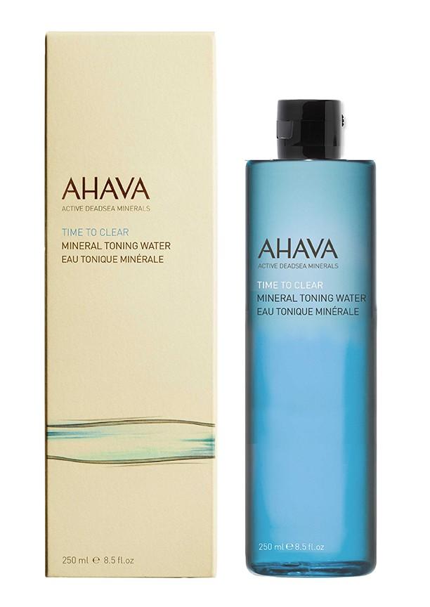 Ahava Time To Clear Минеральный тонизирующий лосьон 250 млAhava<br>Минеральная тонирующая вода, обогащенная Osmoter™ и растительными экстрактами, восстанавливает естественный уровень pH,  поддерживает водный баланс, успокаивает и освежает, подготавливая кожу для нанесения других средств ухода. Являясь единственной косметической компанией, расположенной на берегу Мертвого моря, цель и задача AHAVA состоит в том, чтобы предоставить достоинства Мертвого моря путем использования своих самых необычных ингредиентов и создания инновационных и эффективных продуктов для потребителей во всем мире.Способ применения:<br>Протереть лицо ватным диском , пропитанным тоником. Подходит для  ежедневного использования. <br>Особенности состава:<br>*Вся продукция не содержит парабены*Вся очищающие средства не содержат SLS / SLES (лаурет сульфат натрия). *Не содержит продуктов нефтепереработки, агрессивных синтетических ингредиентов и ГМО*Вся продукция гипоаллергена и опробована на чувствительной кожи.*Не тестируется на животных*Вся упаковка подлежит вторичной переработке*Вся продукция содержит формулу Osmoter™Состав:<br>Aqua (Mineral Spring Water), Cucumis Sativus (Cucumber) Fruit Extract &amp;amp; Glycerin &amp;amp; Aqua (Water), Cocamine Oxide, Acer Saccharinum (Sugar Maple) Extract &amp;amp; Citrus Aurantium Dulcis (Orange) Fruit Extract &amp;amp; Citrus Medica Limonum (Lemon) Fruit Extract &amp;amp; Saccharum Officinarum (Sugar Cane) Extract &amp;amp; Vaccinium Myrtillus (Bilberry) Leaf Extract, Rosa Centifolia (Rose Water) Flower Water, Peg-40 Hydrogenated Castor Oil &amp;amp; Propylene Glycol &amp;amp; Trideceth-9, Maris Sal (Dead Sea Water), Allantoin, Iodopropynyl Butylcarbamate &amp;amp; Methylisothiazolinone &amp;amp; Propanediol (Corn derived Glycol), Parfum (Fragrance), Butylphenyl Methylpropional, Hexyl Cinnamal, Hydroxyisohexyl 3-Cyclohexene Carboxaldehyde, Limonene,Linalool.<br><br>Вес г: 320<br>Бренд : Ahava<br>Объем мл: 250<br>Тип кожи : все типы кожи<br>Возраст : 12+<br