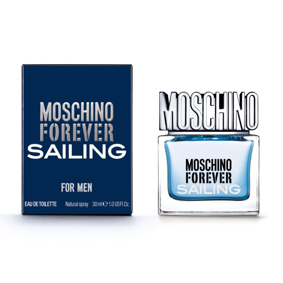 Moschino Forever Sailing Туалетная вода, 30 мл спрейMoschino<br>Рекомендации:<br>Приятный и легкий аромат, подобный небу весной, словно прогулка среди едва распустившихся цветов. Глубокий, как чувства, бодрящий, как летний день, легкий, как облако. Божественный аромат, романтический эликсир, вызывающий желание прожить реальность<br>Описание:<br>Это уникальное сочетание классических нот и ярких оттенков. Аромат вдохновлен хождением под парусами. Свежий как морской бриз, полный энергии и страсти. Для мужчин, которые всегда находятся в движении, исследуют, покоряют. Moschino Forever Sailing продолжает историю успеха первого мужского аромата Moschino Uomo. Аромат отражает силу и индивидуальность современного мужчины.<br>Мнение эксперта:<br>Для мужчин, которые всегда находятся в движении, исследуют, покоряют.<br>Особенности состава:<br>Вдохновляющий аккорд блю скай пробуждает внутри полного энергией сердца воздушное и бодрящее чувство, обогащенное нотами лаванды и опьяняющим прикосновением можжевельника.<br>Состав:<br>этиловый спирт, ароматическая композиция, дистиллированная вода, лимонен, этилгексил метоксициннамат, бутил метоксидибензолметан, этилгексил салицилат, линалоол, гидроксиизогексил 3-циклогексен карбоксальдегид, цитронеллол, цитраль, гераниол, C.I. 60730 (фиолетовый 2), C.I. 17200 (красный 33), C.I. 42090 (голубой 1)<br><br>Вес г: 200<br>Бренд : Moschino<br>Объем мл: 30<br>Возраст : 14+<br>Страна производитель : Италия<br>Вид Аромата : Ароматический, зелёный, свежий<br>Шлейф : Пачули, Амбровое дерево, Мускус<br>Верхняя Нота : Аккорд мятного льда, Лимон первого цветения, Грейп<br>Верхняя Нота : Аккорд мятного льда, Лимон первого цветения, Грейп