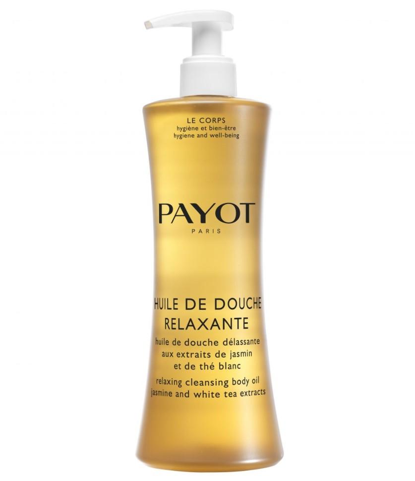 Payot Corps Масло для душа очищающее расслабляющее с экстрактами жасмина и белого чая 400 млPayot<br>Масло деликатно очищает кожу тела от загрязнений, смягчает жесткость воды, защищает кожу от сухости, питает. Цветочный аромат в сочетании с экстрактами жасмина и белого чая, помогает снять напряжение и успокоить кожу, подарить минуты блаженства и вернуть хорошее самочувствие.<br>Способ применения:<br>Наносите утром и вечером на влажную кожу тела, вспеньте, затем тщательно смойте водой.<br>Состав:<br>AQUA (WATER), GLYCERIN, SODIUM LAURETH SULFATE, CAPRYLYL/CAPRYL GLUCOSIDE, HYDROGENATED STARCH HYDROLYSATE, PARFUM (FRAGRANCE), SODIUM COCOAMPHOACETATE, SODIUM COCOYL GLUTAMATE, PEG-7 GLYCERYL COCOATE, CITRIC ACID, COCO-GLUCOSIDE, GLYCERYL OLEATE, SODIUM CHLORIDE, SODIUM BENZOATE, POLYQUATERNIUM-10, BENZOPHENONE-4, SODIUM ACETATE, CAMELLIA SINENSIS LEAF EXTRACT, JASMINUM OFFICINALE (JASMINE) FLOWER EXTRACT<br><br>Вес г: 489<br>Бренд : Payot<br>Объем мл: 400<br>Возраст : 16<br>Страна производитель : Франция