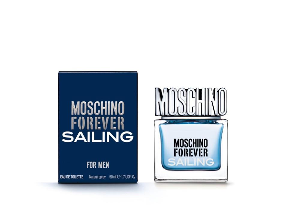 Moschino Forever Sailing Туалетная вода, 50 мл спрейMoschino<br>Рекомендации:<br>Эликсир юности, свежести и соблазна. Великолепный букет цветов, словно по волшебству, окрашивает мир и чувства в розовый! Аромат для женщин с ярким характером, ценящих удовольствие и веселье превыше всего! Любвеобильное сердце, спонтанное, вечно юное и романтичное<br>Описание:<br>Это уникальное сочетание классических нот и ярких оттенков. Аромат вдохновлен хождением под парусами. Свежий как морской бриз, полный энергии и страсти. Для мужчин, которые всегда находятся в движении, исследуют, покоряют. Moschino Forever Sailing продолжает историю успеха первого мужского аромата Moschino Uomo. Аромат отражает силу и индивидуальность современного мужчины.<br>Мнение эксперта:<br>Для мужчин, которые всегда находятся в движении, исследуют, покоряют.<br>Особенности состава:<br>Вдохновляющий аккорд блю скай пробуждает внутри полного энергией сердца воздушное и бодрящее чувство, обогащенное нотами лаванды и опьяняющим прикосновением можжевельника.<br>Состав:<br>этиловый спирт, ароматическая композиция, дистиллированная вода, лимонен, этилгексил метоксициннамат, бутил метоксидибензолметан, этилгексил салицилат, линалоол, гидроксиизогексил 3-циклогексен карбоксальдегид, цитронеллол, цитраль, гераниол, C.I. 60730 (фиолетовый 2), C.I. 17200 (красный 33), C.I. 42090 (голубой 1)<br><br>Вес г: 290<br>Бренд : Moschino<br>Объем мл: 50<br>Возраст : 14+<br>Страна производитель : Италия<br>Вид Аромата : Ароматический, зелёный, свежий<br>Шлейф : Пачули, Амбровое дерево, Мускус<br>Верхняя Нота : Аккорд мятного льда, Лимон первого цветения, Грейп<br>Верхняя Нота : Аккорд мятного льда, Лимон первого цветения, Грейп