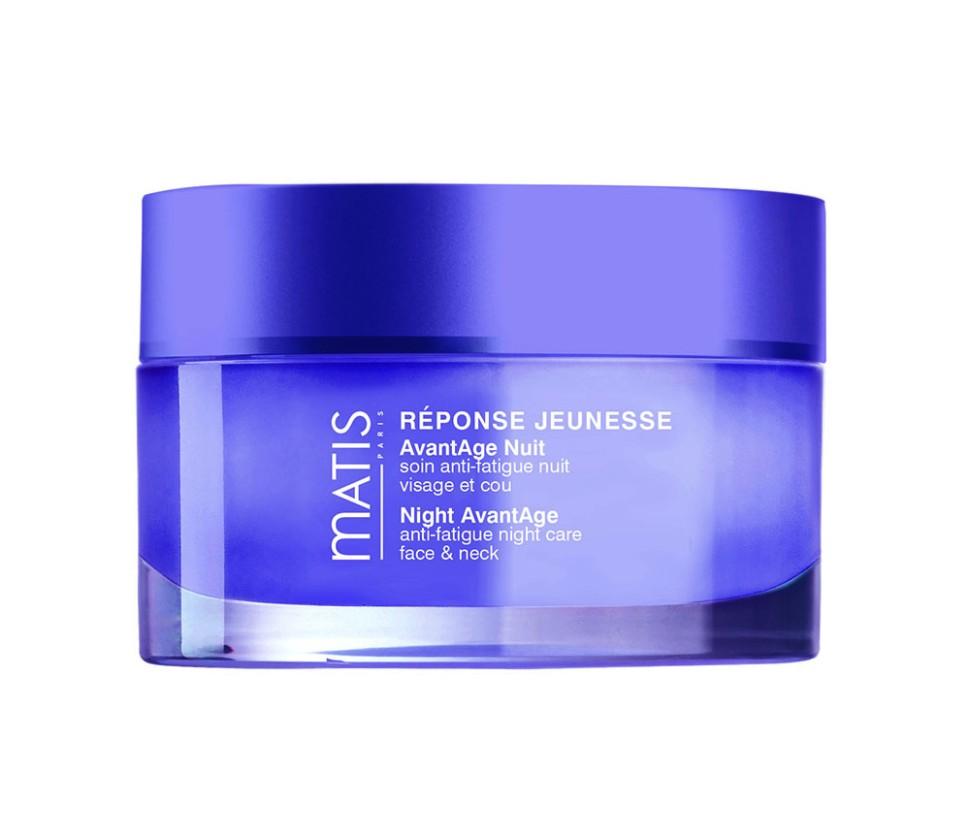Matis Блеск Молодости ночной крем предотвращающий старение кожи 50 млMatis<br>Уникальный ночной уход, который восстанавливает ресурсы кожи после перенесённой нагрузки в дневное время. Средство использует Ваш отдых ночью для стимулирования потенциала кожи и её естественных защитных функций, помогает бороться с признаками усталости и сохранить молодость кожи. Каждое утро: кожа свежая, отдохнувшая; черты лица расслаблены; Кожа выглядит более молодой. Комплекс ChronoSkin - восстанавливает и защищает кожу от негативных последствий, вызванных гликацией; Способствует регенерации и клеточному обновлению.Способ применения:<br>Наносить вечером на очищенную кожу лица и шеи.<br>Состав:<br>AQUA, CYCLOHEXASILOXANE, DIMETHICONE, GLYCERIN, CYCLOPENTASILOXANE, ALBIZIA JULIBRISSIN BARK EXTRACT, PEG/PPG-20/15 DIMETHICONE, DIMETHICONE/VINYL DIMETHICONE CROSSPOLYMER, VINYL DIMETHICONE/METHICONE SILSESQUIOXANE CROSSPOLYMER, DIPROPYLENE GLYCOL, SODIUM CHLORIDE, GLUTAMYLAMIDOETHYL IMIDAZOLE, SODIUM POLYACRYLATE, ETHYLHEXYLGLYCERIN, PENTYLENE GLYCOL, PARFUM, TRIDECETH-6, PHENOXYETHANOL, SODIUM BENZOATE, CAPRYLYL GLYCOL, PEG/PPG-18/18 DIMETHICONE, TOCOPHEROL, CI 14700, SORBIC ACID, CI 60730, HYDROXYISOHEXYL 3-CYCLOHEXENE CARBOXALDEHYDE, BUTYLPHENYL METHYLPROPIONAL, BENZYL SALICYLATE, ALPHA-ISOMETHYL IONONE, HEXYL CINNAMAL, LINALOOL, CITRONELLOL, LIMONENE.<br><br>Вес г: 125<br>Бренд : Matis<br>Объем мл: 50<br>Тип кожи : все типы кожи<br>Консистенция : крем<br>Тип крема : увлажняющий, питательный, антивозрастной, укрепляющий, восстанавливающий<br>Возраст : 25+<br>Эффект : выравнивание, эластичность<br>По времени суток : ночной уход<br>Страна производитель : Франция