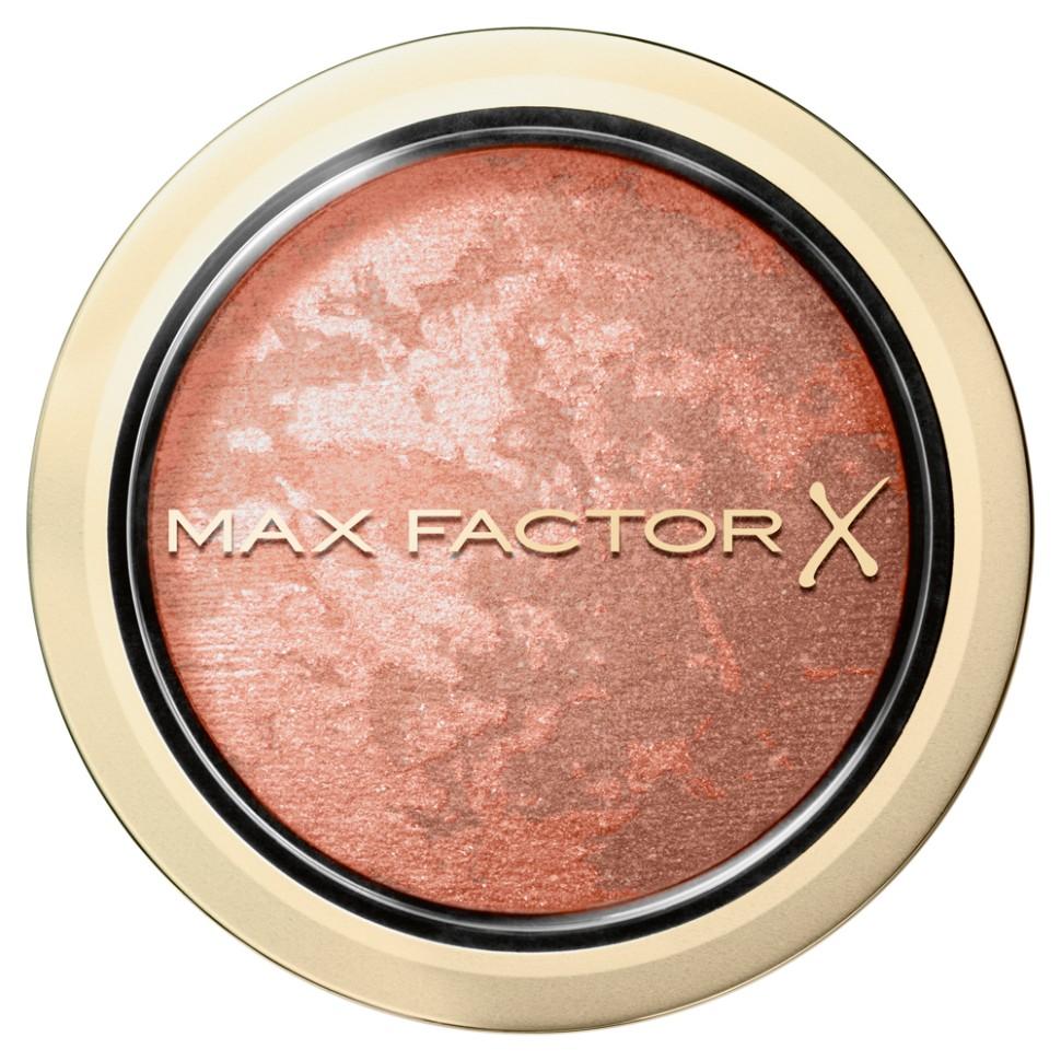 Max Factor Румяна Creme Puff Blush (25 alluring rose)Max Factor<br>Иногда хочется придать лицу нежный румянец. А иногда - больше выразительности за счет интенсивности цвета. Невероятные мультитональные оттенки румян Max Factor Creme Puff Blush легко смешиваются, чтобы ты могла создать румянец любой интенсивности. <br>Особенности состава:<br>Запеченная формула – мягкая, бархатная текстура, позволяющая варьировать интенсивность цвета.Мелко измельченные мульти-тональные пигменты дополнят и усилят тон кожи, в то время как ультралегкие частицы придадут коже естественное сияние и выгодно подчеркнут контур лица.<br>Мнение эксперта:<br>Глобальный креативный директор марки Max Factor Пэт МакГрат говорит: «Румяна правильного оттенка - это самый быстрый способ создать иллюзию высоких, ярко выраженных скул, которые мы видим на моделях на подиуме. За кулисами Недели моды, мы наносим румяна на яблочки щек, виски и подбородок, а также выделяем область скул, используя румяна в качестве бронзера, чтобы придать коже свежий, отдохнувший вид».Способ применения:Для идеального нанесения обмакни мягкую чистую кисть в румяна и стряхни излишки. Нанеси румяна на яблочки щек и растушуй небольшими круговыми движениями. Создай желаемую интенсивность цвета. Если необходимо убрать интенсивность, просто нанеси сверху немного прозрачной пудры, чтобы смягчить тон. Румяна Max Factor Creme Puff - смешивай, придавай легкий румянец или скульптурность лицу, чтобы получить желаемую интенсивность цвета.<br>Состав:<br>Слюда, тальк, тризостеарин, октилдодеканол, демитикон, силикат магния алюминия, фенокситанол, вода, сорбиновая кислота, метилпарабен, этилпарабен, CI77891, CI 77491, CI 77492, CI 15880, CI 75467<br><br>Вес г: 60<br>Бренд : Max Factor<br>Объем мл: 1<br>В комплекте : кисть<br>Страна производитель : КАНАДА