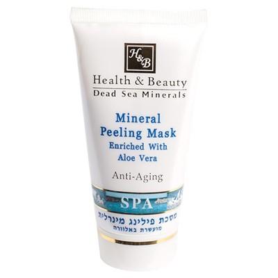 Health&amp;Beauty Маска-пилинг минеральная 150 млHealth&amp;Beauty<br>Маска оказывает тройное действие на кожу лица – очищает, смягчает и отбеливает. Скраб содержит мельчайшие частички пудры абрикосовых косточек , которые бережно и деликатно очищают кожу от омертвевших клеток, масло персика глубоко увлажняет, экстракт цветков ромашки и сок Алоэ Вера бережно ухаживают за кожей, делая ее нежной и сияющей.Также в составе присутствует каолин, который обладает мягким отшелушивающим действием, активизирует кровообращение, подсушивает воспаления и отбеливает кожу.<br><br>Вес г: 200<br>Бренд: Health &amp; Beauty<br>Объем мл: 150<br>Тип кожи: все типы кожи<br>Консистенция маски: кремообразная<br>Часть лица: лицо<br>По времени суток: дневной уход<br>Назначение маски: очищающая, отбеливающая<br>Страна производитель: Израиль