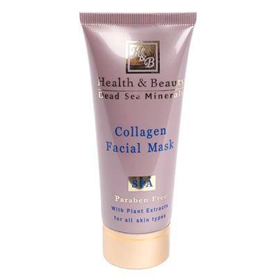 Health&amp;Beauty Маска для лица коллагеновая укрепляющаяHealth&amp;Beauty<br>Активные компоненты, входящие в состав маски, обеспечивают сильный и быстрый лифтинг-эффект, делают кожу нежной и бархатистой. Специалисты HEALTH&amp;amp;BEAUTY для производства этой маски отобрали лучшие натуральные компоненты – масло ромашки, масло папайи, масла сои и миндаля.<br><br>Вес г: 150<br>Бренд: Health &amp; Beauty<br>Объем мл: 100<br>Тип кожи: все типы кожи<br>Консистенция маски: кремообразная<br>Часть лица: лицо<br>По времени суток: дневной уход<br>Назначение маски: питательная, подтягивающая<br>Страна производитель: Израиль