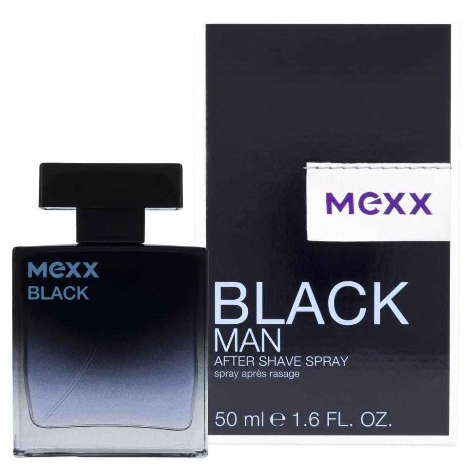 Mexx Black Man Туалетная вода 50 мл (MX001705)Руководство по выбору:<br>Дневной и вечерний аромат<br>Описание:<br>Мужской древесный фужерный парфюм Black for Him был выпущен нидерландским брендом моды Mexx в 2009 году. Этот энергичный, освежающий, многогранный, чувственный, мягкий, немного пряный, слегка цитрусовый, сладковатый цветочно-древесный аромат с нотами пачули от Mexx предназначен для молодых экстравагантных мужчин, подчеркивает обаяние и непосредственность своего обладателя. В композицию Black for Him входят ноты воды, мандарина, перца, виргинского кедра, водяной лилии, амбры, сандалового дерева и листьев пачули. Парфюм можно носить и в качестве дневного аромата, и как вечерние духи, лучше всего раскрывается в осенне-весенний период.<br>Особенности состава:<br>Мужественные древесные ноты<br>Мнение эксперта:<br>Чувственность и спонтанность<br>Состав:<br>Alcohol Denat., Aqua (Water), Parfum (Fragrance), Bht, Diethylamino Hydroxybenzoyl Hexyl Benzoate, Ethylhexyl Methoxycinnamate, Limonene, Linalool, Ci 19140 (Yellow 5), Ci 42090 (Blue 1), Ci 60730 (Ext. Violet 2)<br><br>Бренд : MEXX<br>Объем мл: 50<br>Возраст : 14<br>Страна производитель : Германия<br>Шлейф : Амбра, Пачули<br>Верхняя Нота : Мандарин, Перец<br>Верхняя Нота : Мандарин, Перец