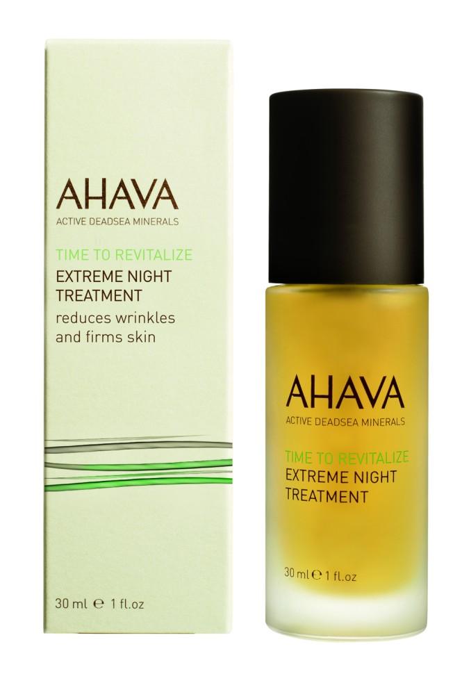 Ahava Time To Revitalize Радикально восстанавливающий ночной крем 30 млAhava<br>Концентрированное ночное питательное средство, основанное на надежных натуральных ингредиентах Гималаев и Мертвого моря, которые увеличивают упругость кожи, в течение ночи укрепляют естественный защитный барьер кожи, чтобы кожа лучше справлялась с ежедневным стрессом. Дарит коже комфорт, расслабляет, уменьшает глубокие морщины, возвращает упругость. Просыпаться каждое утро с более упругой, гладкой расслабленной кожей - это ваш выбор!Являясь единственной косметической компанией, расположенной на берегу Мертвого моря, цель и задача AHAVA состоит в том, чтобы предоставить достоинства Мертвого моря путем использования своих самых необычных ингредиентов и создания инновационных и эффективных продуктов для потребителей во всем мире.Способ применения:<br>Наносить  2 капли средства каждую ночь на очищенную кожу шеи и лица.Не требуется наносить крем поверх средства. Также можно наносить на кожу по бокам глаз (паукообразные линии).Особенности состава:<br>*Вся продукция не содержит парабены*Вся очищающие средства не содержат SLS / SLES (лаурет сульфат натрия). *Не содержит продуктов нефтепереработки, агрессивных синтетических ингредиентов и ГМО*Вся продукция гипоаллергена и опробована на чувствительной кожи.*Не тестируется на животных*Вся упаковка подлежит вторичной переработке*Вся продукция содержит формулу Osmoter™Состав:<br>Cyclopentasiloxane &amp;amp; PEG/PPG-18/18 Dimethicone, Cyclomethicone, Aesculus Hippocastanum (Horsechestnut) Seed Extract &amp;amp;Propanediol (Corn Derived Glycol), Aqua (Mineral Spring Water), Dimethicone &amp;amp; Dimethicone Crosspolymer, Glycerin &amp;amp; Ruscus Aculeatus Root (Butcherbroom) Extract &amp;amp; Aqua (Water), Cyclopentasiloxane &amp;amp; Dimethiconol, Glycerin, Acer Saccharinum (Sugar Maple) Extract &amp;amp; Citrus Aurantium Dulcis (Orange) Fruit Extract &amp;amp; Citrus Medica Limonum (Lemon) Fruit Extract &amp;amp; Saccharum Officinarum (Sugar Cane) E