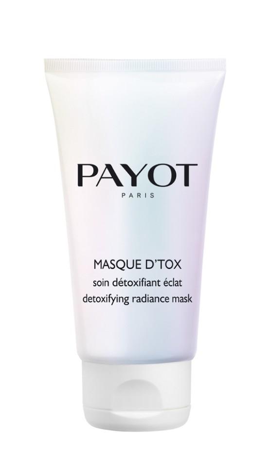 Payot Les Demaquillantes Очищающая маска-детокс 50 млPayot<br>Маска глубоко очищает и смягчает; осветляет кожу и поглощает излишки себума; снимает напряжение, возвращает коже сияние.<br>Способ применения:<br>Нанесите маску на сухую кожу лица и шеи; оставьте на 10 минут; смойте водой, затем используйте тоник.<br>Состав:<br>AQUA (WATER), KAOLIN, CAPRYLIC/CAPRIC TRIGLYCERIDE,GLYCERYL STEARATE, PEG-100 STEARATE, PROPYLENE GLYCOL, CI 77891 (TITANIUM DIOXIDE), PENTYLENE GLYCOL, HECTORITE, PALMITIC ACID, STEARIC ACID, DECYL GLUCOSIDE, PARFUM (FRAGRANCE), ALLANTOIN, CHLORPHENESIN, DISODIUM EDTA, GLYCERIN, LIMONENE, CITRONELLOL, GERANIOL, SMITHSONITE EXTRACT, ALPHA-GLUCAN OLIGOSACCHARIDE, CI 14700 (RED 4), CITRUS PARADISI (GRAPEFRUIT) FRUIT EXTRACT, MALACHITE EXTRACT<br><br>Вес г: 103<br>Бренд : Payot<br>Объем мл: 50<br>Тип кожи : все типы кожи<br>Консистенция маски : кремообразная<br>Часть лица : лицо<br>Возраст : 16<br>По времени суток : дневной уход<br>Назначение маски : очищающая<br>Страна производитель : Франция