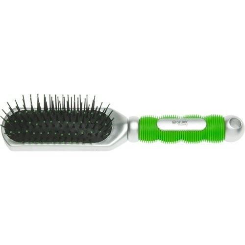 Dewal Расческа массажная с пластиковым штифтом (9550)Dewal<br>Расческа Dewal Beauty с пластиковым штифтом, выполненная из пластика, станет отличным подарком Вашей подруге, сестре или племяннице. Расческа значительно облегчает и упрощает укладку волос.<br><br>Вес г: 50<br>Бренд: Dewal