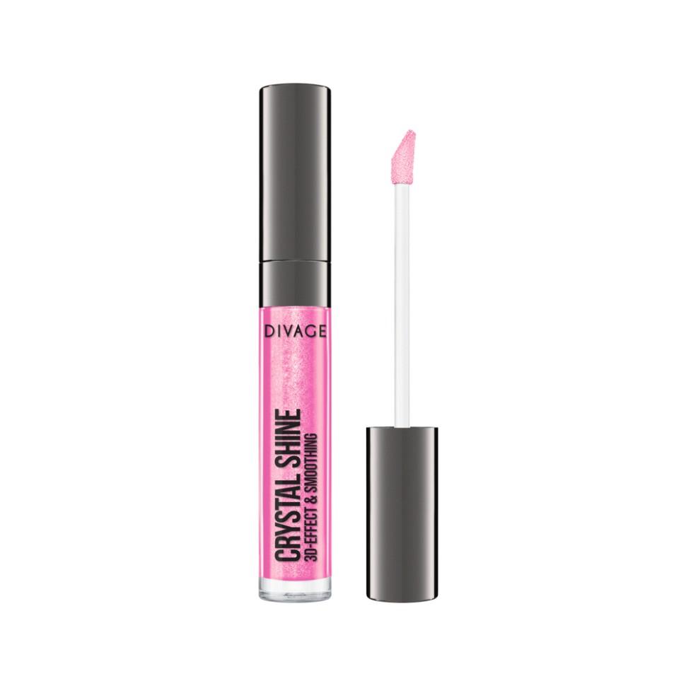Divage Блеск для губ Lip Gloss Crystal Shine (10 светло-розовый)Divage<br>Непревзойденный блеск и кристальное сияние благодаря мелким перламутровым частичкам тебе подарит новый блеск для губ от DIVAGE CRYSTAL SHINE!<br>Блеск имеет 3D-эффект, твои губки более чувственные и объемные, а глянцевый блеск сделает твой образ чарующим и восхитительным. Блеск дарит стойкий и насыщенный цвет, коллекция представлена в 14 оттенках. Нелипкая текстура, а также потрясающая отдушка приятно порадуют тебя, а блеск станет постоянным жителем твоей косметички!<br>Состав:<br>Гидрогенезированный полиизобутен, гидрогенезированный полидецен этилен/пропилен сополимер, октилдодеканол, винил пирролидон/хексадецен сополимер, парафиновый воск, пентаэритритил тетраизостеарат, изопропилизостеарат, диоксид кремния диметилсилилат, вода, глицерин, стеарат полиэтиленгликоля -40, стевия, полиэтиленгликоль-8, витамин Е, аскорбилпальмитат, аскорбиновая кислота, лимонная кислота, отдушка. Может содержать: слюда, CI 77891, CI 77491, CI 77492, CI 77499, CI 15880, CI 15850, CI 45410, CI 15985, CI 77005, CI 77007, серебро, кальций натриевоборосиликатный, боросиликат кальция, алюминия, бензофенон-3<br><br>Вес г: 57<br>Бренд : Divage<br>Форма блеска : с кисточкой<br>Вид блеска : глянцевый<br>Объем мл: 5<br>Страна производитель : Россия