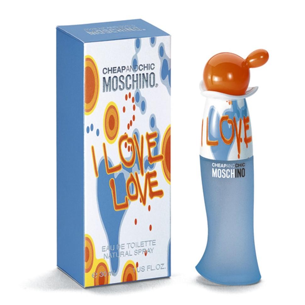 Moschino I Love Love Туалетная вода спрей 30 млMoschino<br>Аромат I LOVE LOVE - аромат любви. I LOVE LOVE - аромат столь же юный, как и чувство, вдохновившее на его создание, как ноты букета, источающего счастье с первого мгновения. Настоящий подарок для влюбленной женщины, энергичной, ироничной и задорной в любви.<br>Мнение эксперта:<br>Манящий и непредсказуемый, неотразимый и соблазнительный аромат. Он моментально поражает сверкающими, яркими цитрусовыми верхними нотами грейпфрута, апельсина, лимона и спелой красной смородины.<br>Особенности состава:<br>9-я нота аромата I LOVE LOVE! Одна из тех нот, что дольше всех сопровождают женщину, влюбленную в аромат, - нота дерева танака. С древних времен бирманские женщины используют танаку в качестве косметического средства, чтобы подчеркнуть свою и без того неповторимую восточную красоту.<br>Состав:<br>Этиловый спирт, ароматическая композиция,дистиллированная вода, этилгексил метоксициннамат , бутил метоксиди бензоил метан, этилгексил салицилат, циннамал, цитрал, цитронеллол, лимонен, линалул<br><br>Вес г: 178<br>Бренд : Moschino<br>Объем мл: 30<br>Возраст : 14+<br>Страна производитель : Италия<br>Вид Аромата : Цитрусовый, цветочный, древесный<br>Шлейф : Древесина танака, Кедр, Мускус<br>Верхняя Нота : Красная смородина, Грейпфрут, Лимон, Апельсин<br>Верхняя Нота : Красная смородина, Грейпфрут, Лимон, Апельсин