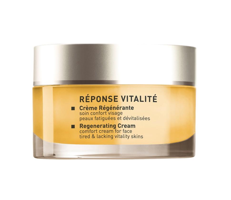 Matis Восстанавливающая Линия Крем восстанавливающий регенерирующий с витаминным комплексом 50 млMatis<br>Крем с нежной таящей текстурой специально разработано для усталой кожи, лишенной сияния. Способствует регенерации, стимулирует обновление клеток, восстанавливает структуру кожи, омолаживает, придает комфорт. Кожа выглядит моложе, хорошо защищена и имеет прекрасный цвет.<br>Способ применения:<br>Наносить на чистую кожу утром и вечером.<br>Особенности состава:<br>Витаминный комплекс (A,C,E), Комплекс CAPTOZONE (лимон и дымянка лекарственная, белый люпин, церамиды)<br>Состав:<br>OIL, DICETYL PHOSPHATE, PROPYLENE GLYCOL, STEARIC ACID, HYDROXYETHYL ACRYLATE/SODIUM ACRYLOYLDIMETHYL TAURATE COPOLYMER, DIMETHICONOL, POLYSORBATE 60, SORBITAN ISOSTEARATE, PARFUM (FRAGRANCE), PALMITIC ACID, ETHYLHEXYLGLYCERIN, SORBITOL, CARBOMER, CI 15510 (ORANGE 4), PHENOXYETHANOL, XANTHAN GUM, CITRIC ACID, TRIETHANOLAMINE, DISODIUM EDTA, METHYLPARABEN, ETHYLPARABEN, PROPYLPARABEN, SODIUM BENZOATE, BHT, LIMONENE, LINALOOL.<br><br>Вес г: 125<br>Бренд : Matis<br>Объем мл: 50<br>Консистенция : крем<br>Тип крема : увлажняющий, питательный, антивозрастной, восстанавливающий<br>Возраст : 30+<br>Эффект : выравнивание, эластичность<br>По времени суток : дневной уход, ночной уход<br>Страна производитель : Франция